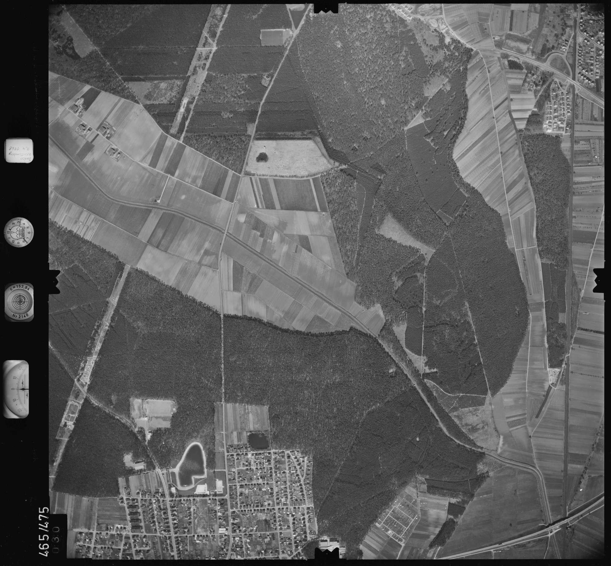 Luftbild: Film 102 Bildnr. 30, Bild 1