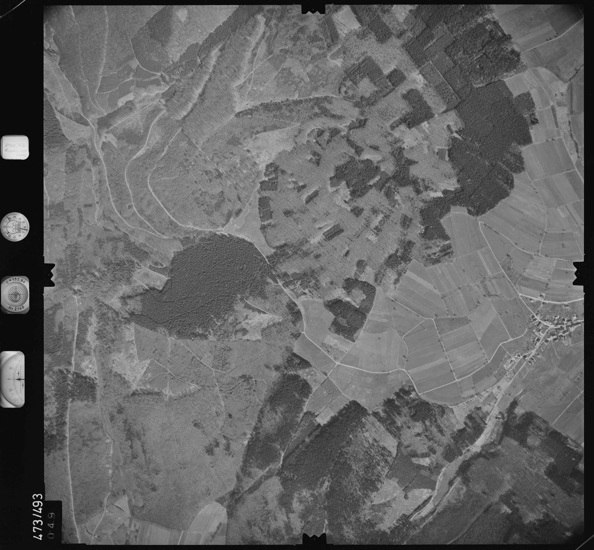 Luftbild: Film 100 Bildnr. 49, Bild 1