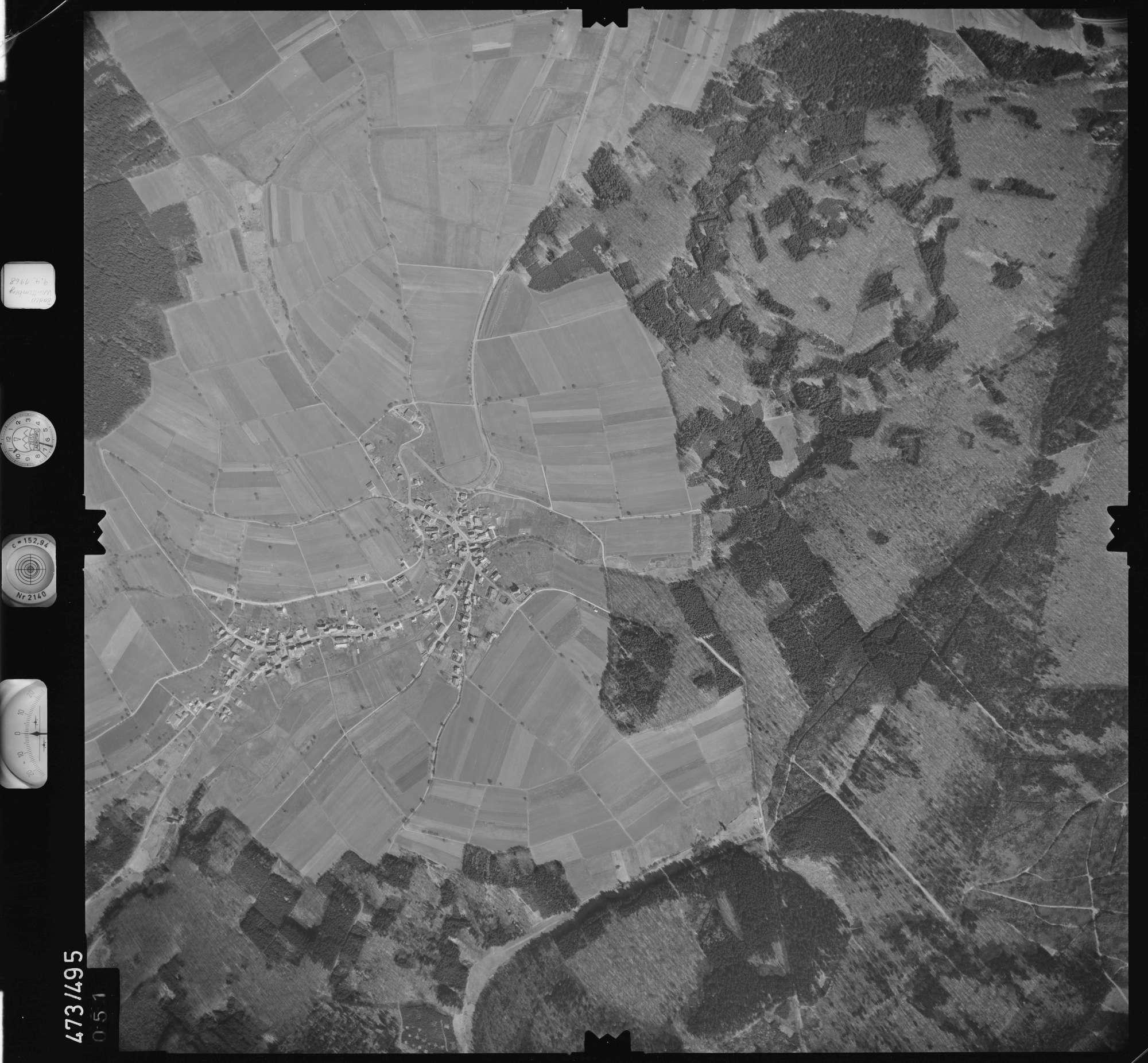 Luftbild: Film 100 Bildnr. 51, Bild 1