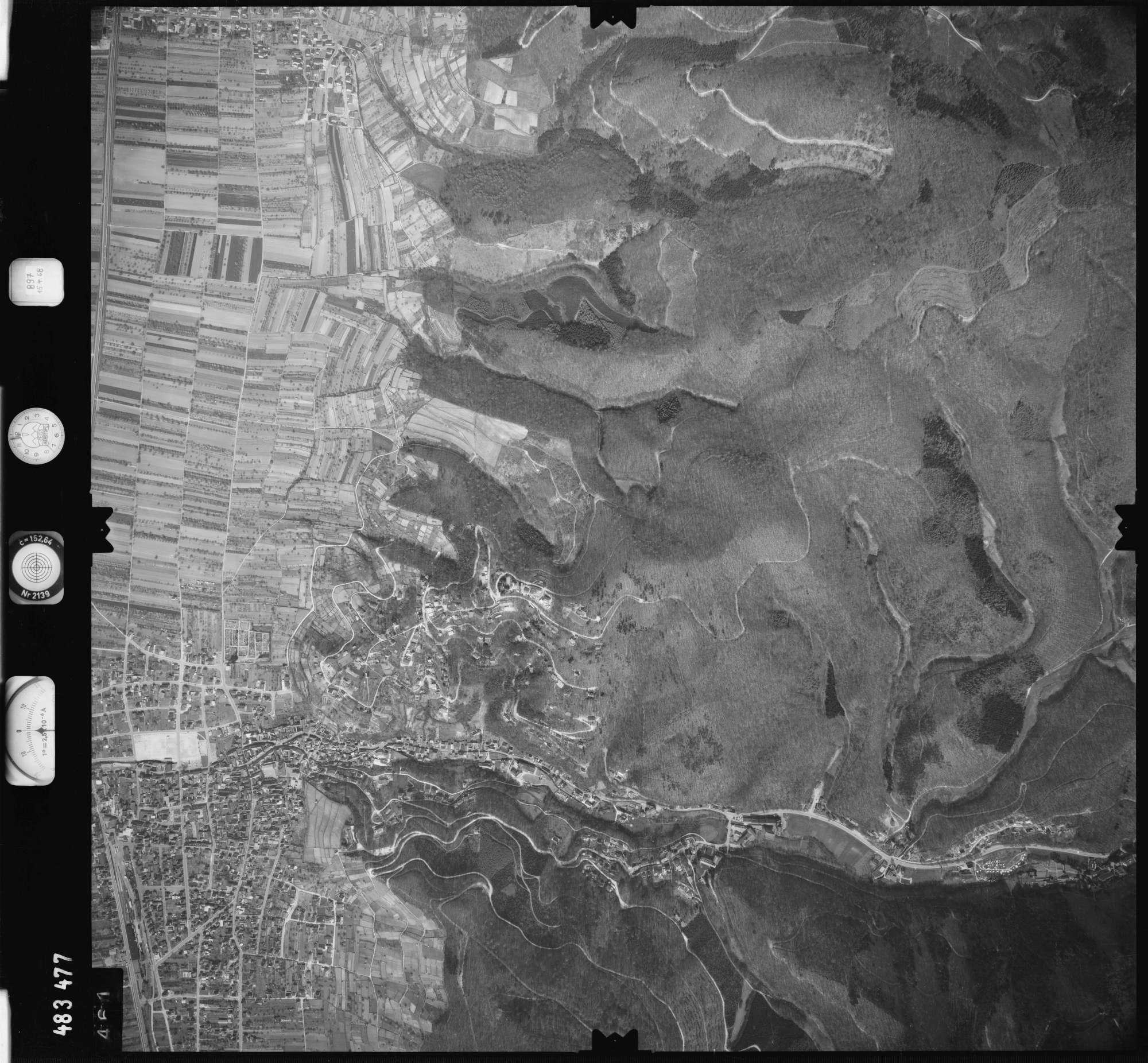 Luftbild: Film 897 Bildnr. 461, Bild 1