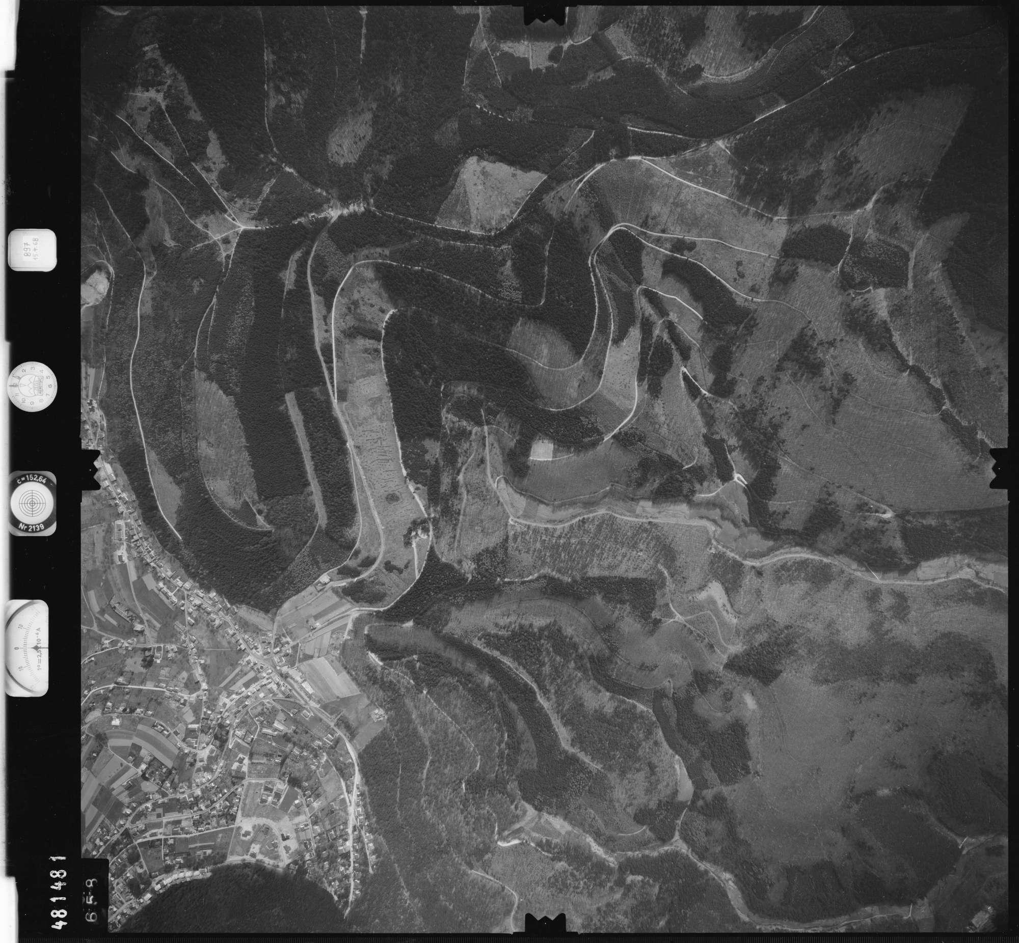Luftbild: Film 897 Bildnr. 658, Bild 1