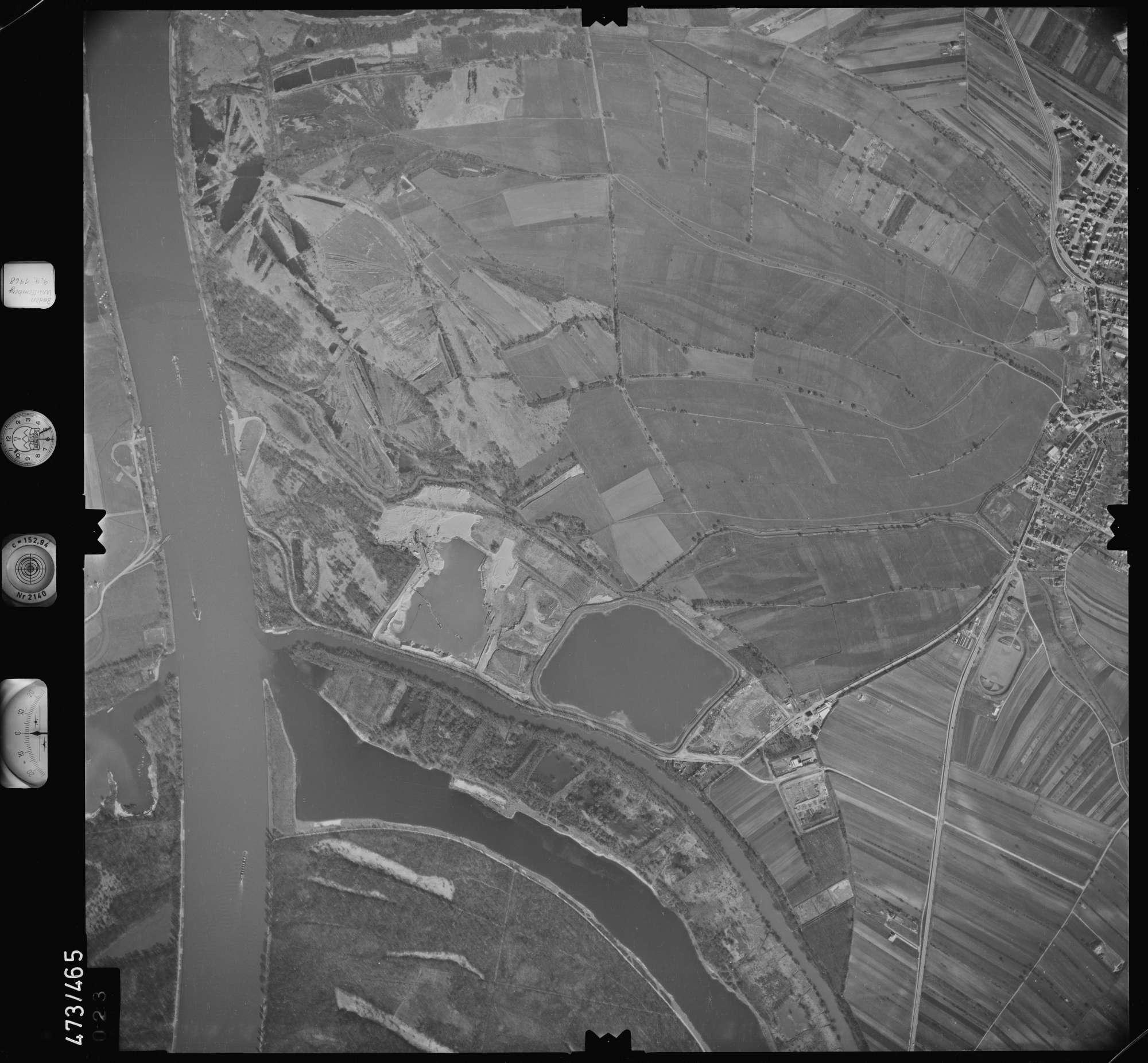 Luftbild: Film 100 Bildnr. 23, Bild 1