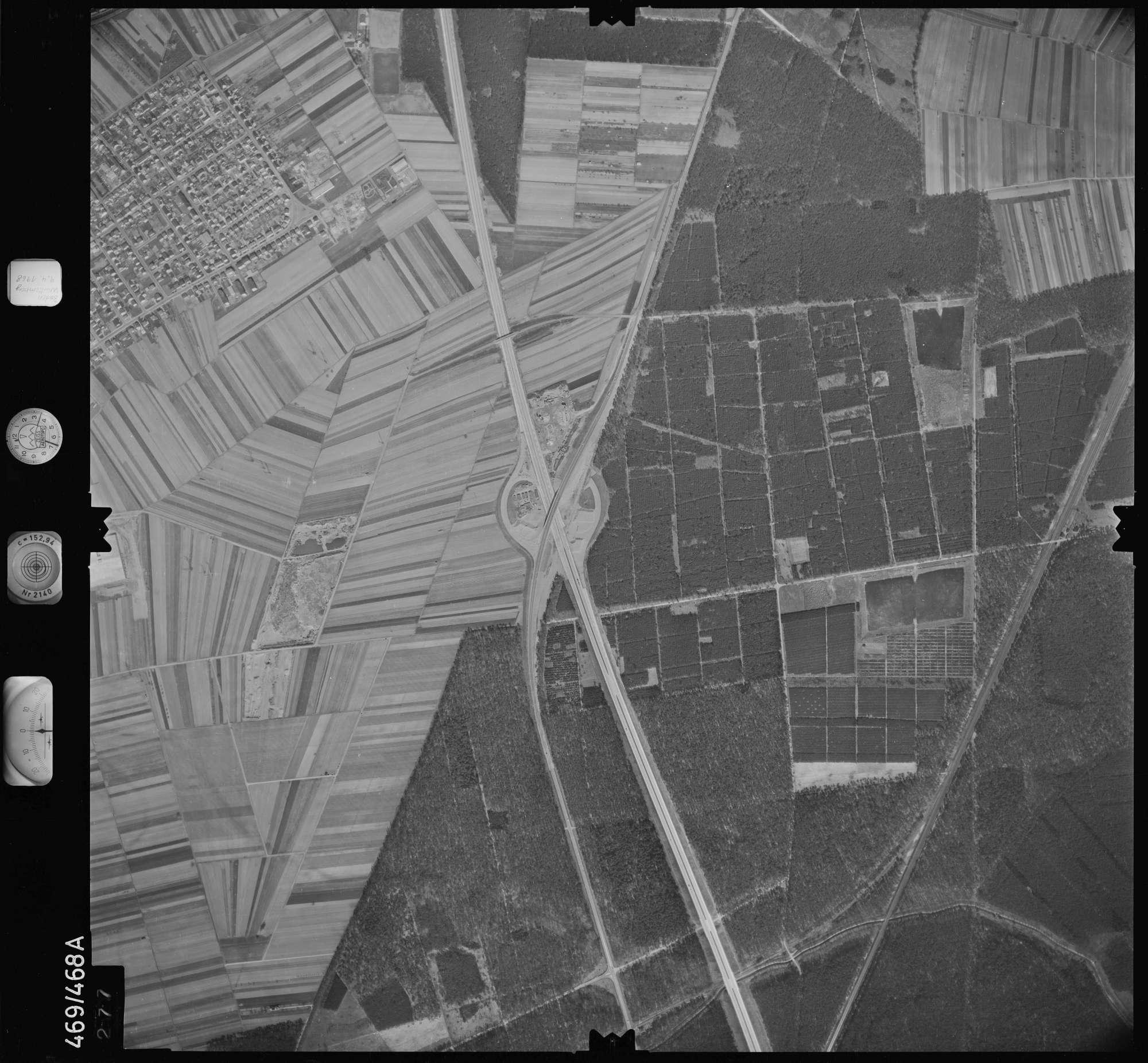 Luftbild: Film 101 Bildnr. 277, Bild 1