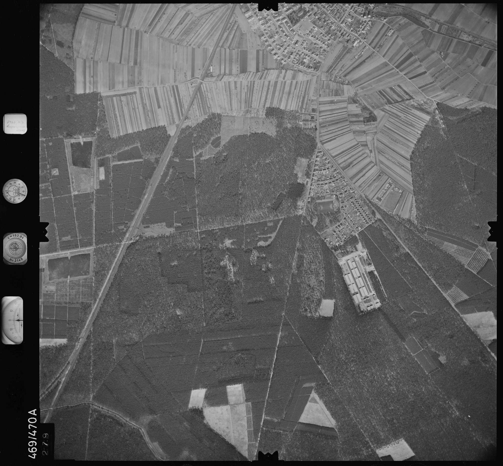 Luftbild: Film 101 Bildnr. 279, Bild 1