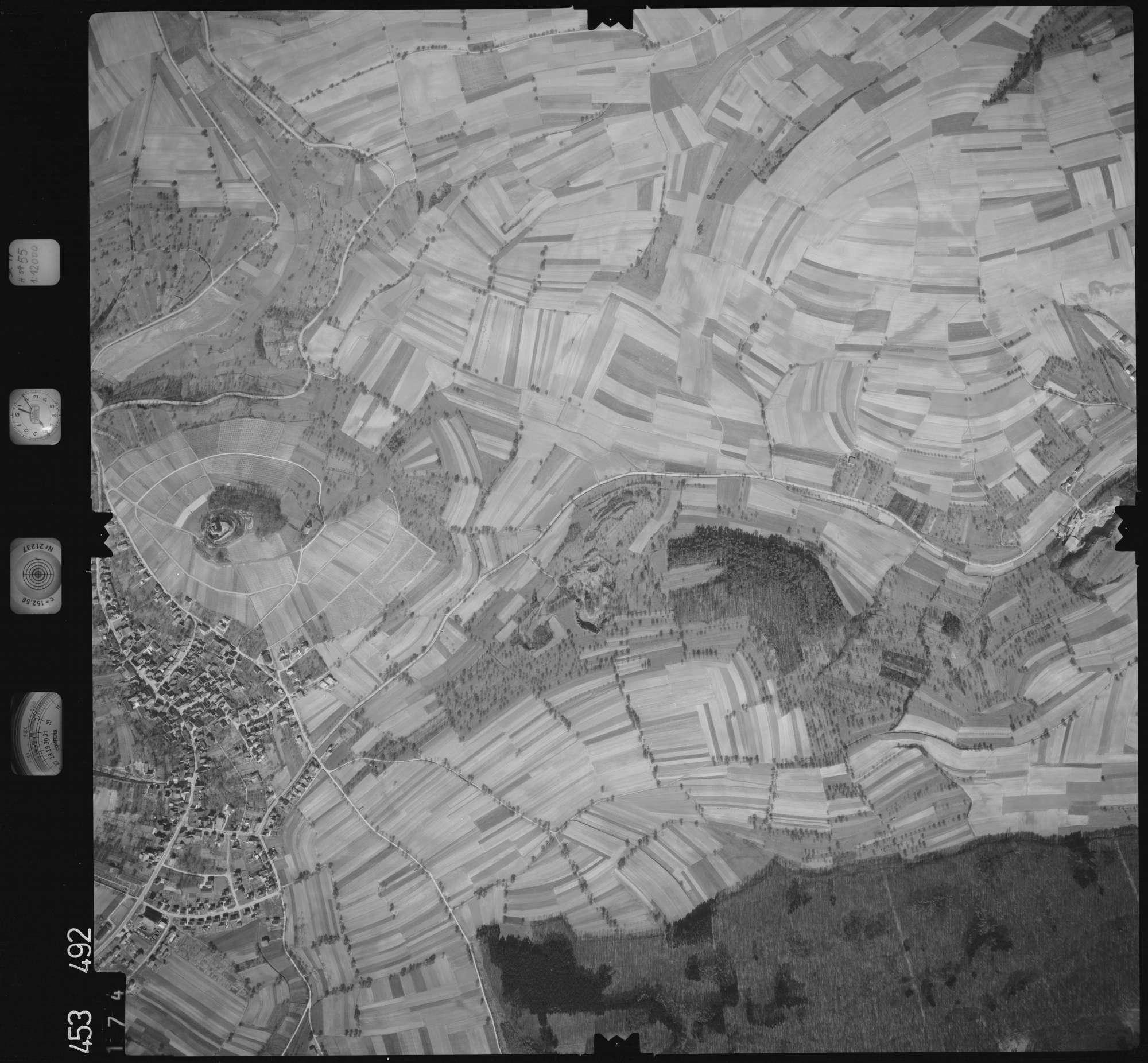 Luftbild: Film 16 Bildnr. 174, Bild 1