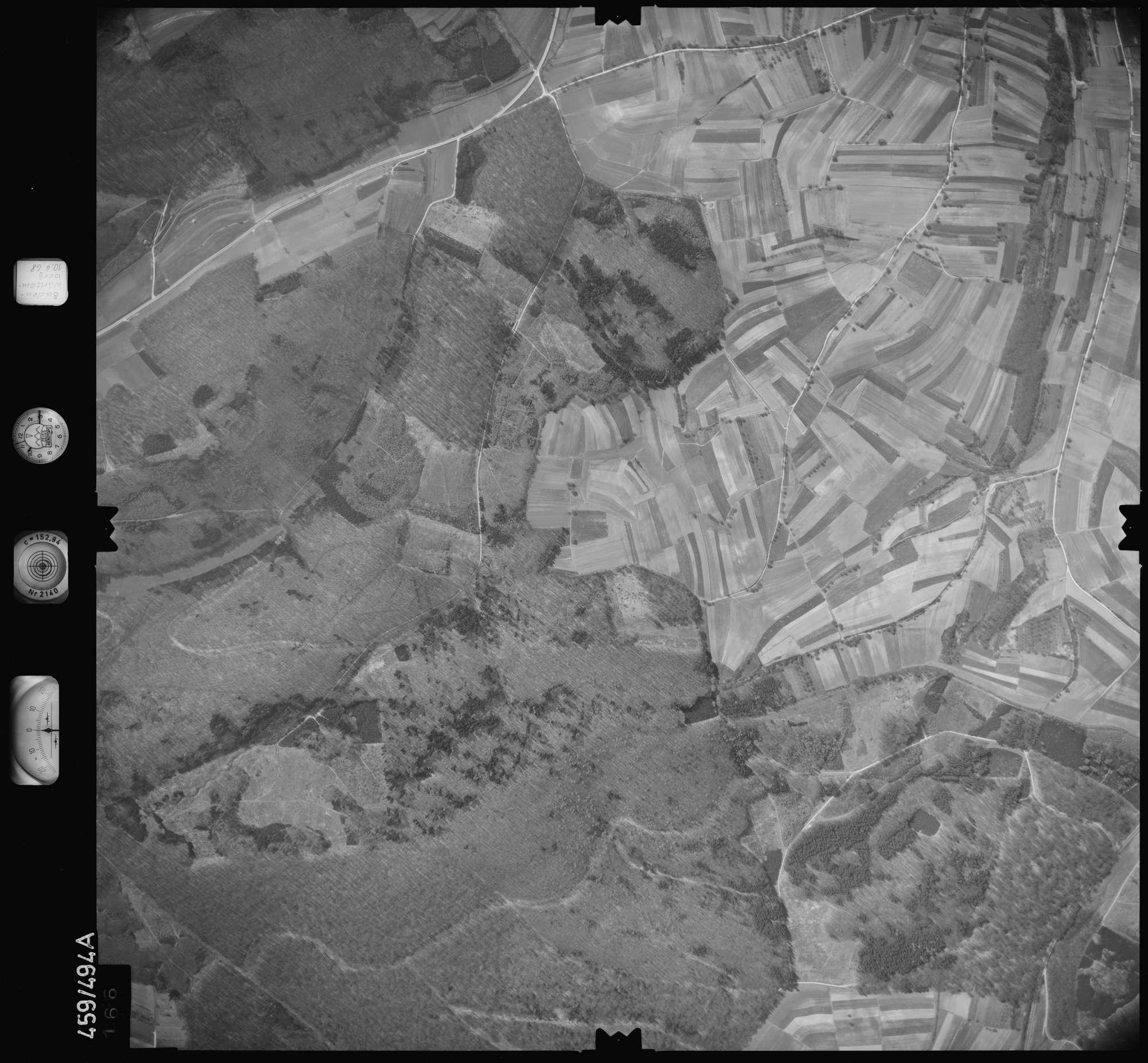 Luftbild: Film 103 Bildnr. 166, Bild 1