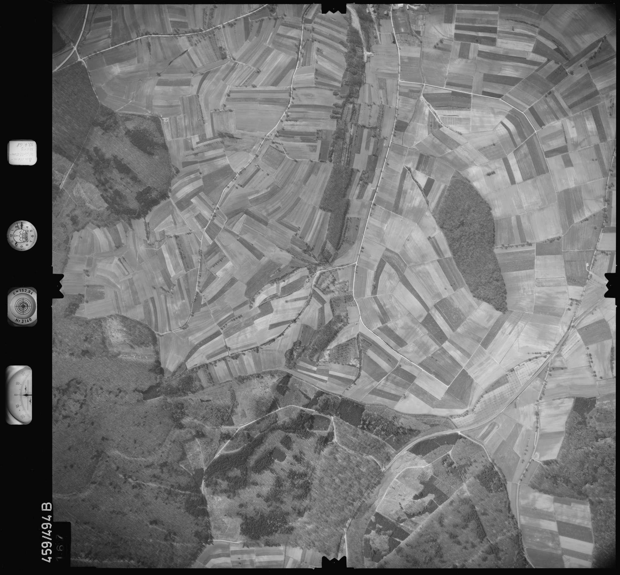 Luftbild: Film 103 Bildnr. 167, Bild 1