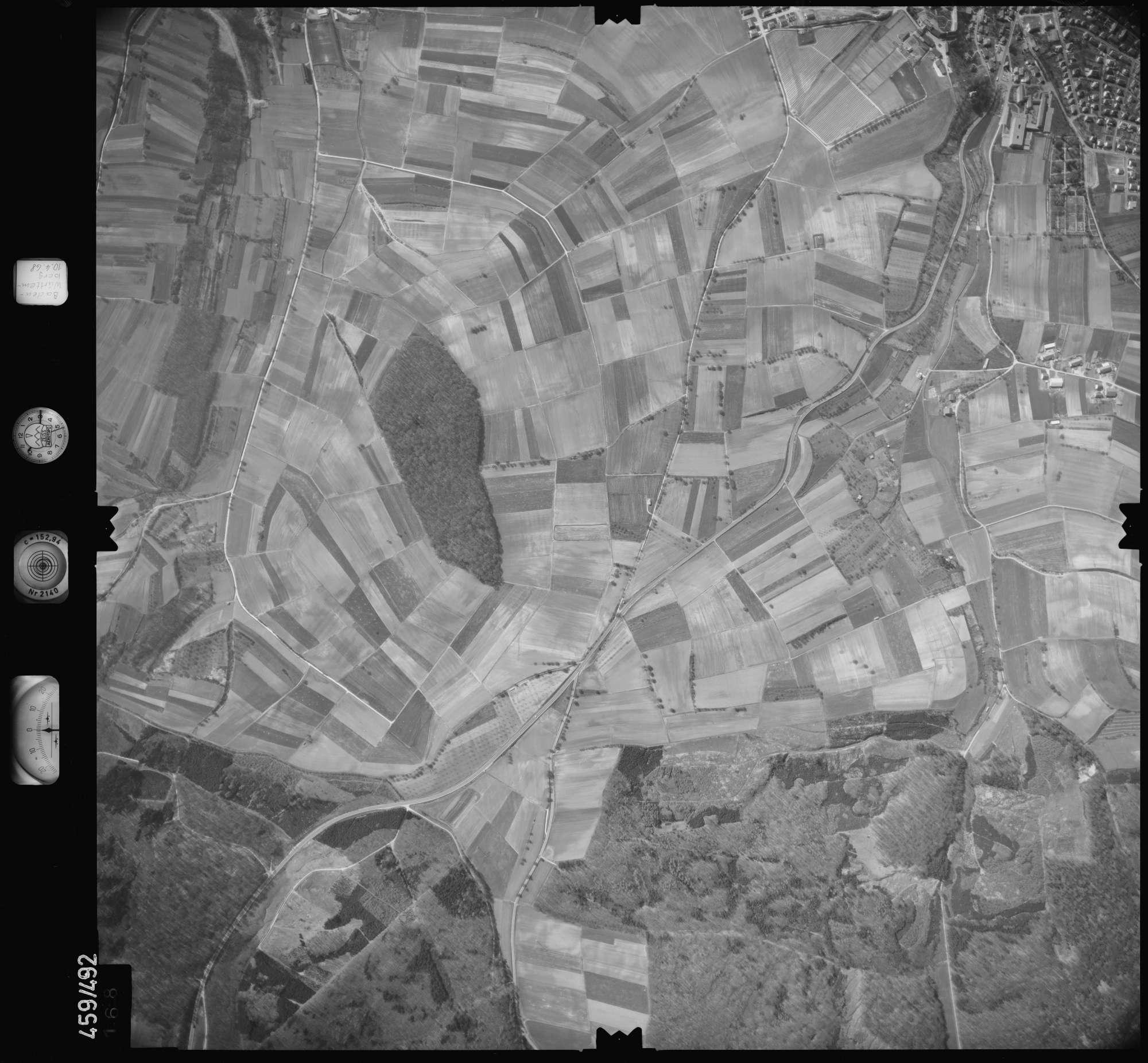 Luftbild: Film 103 Bildnr. 168, Bild 1