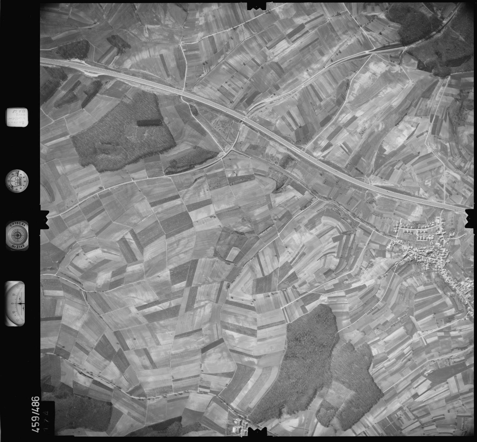 Luftbild: Film 103 Bildnr. 174, Bild 1