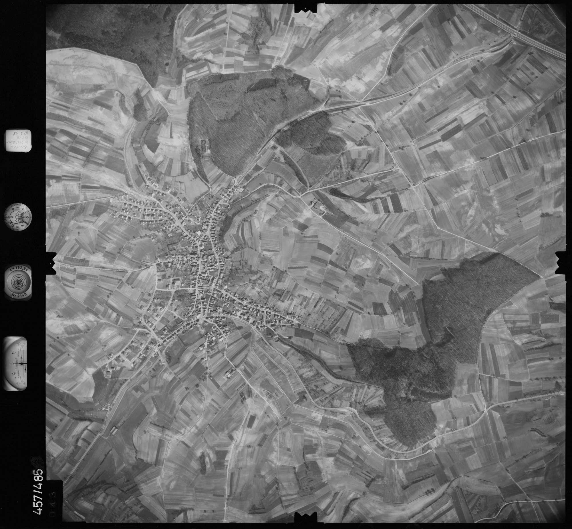 Luftbild: Film 104 Bildnr. 43, Bild 1