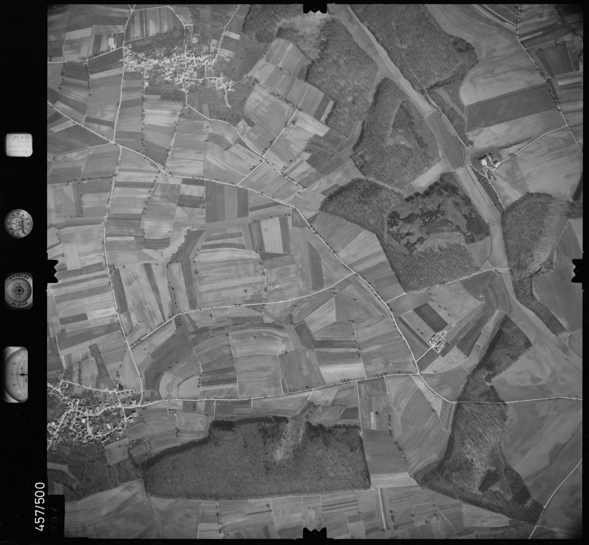 Luftbild: Film 104 Bildnr. 57, Bild 1