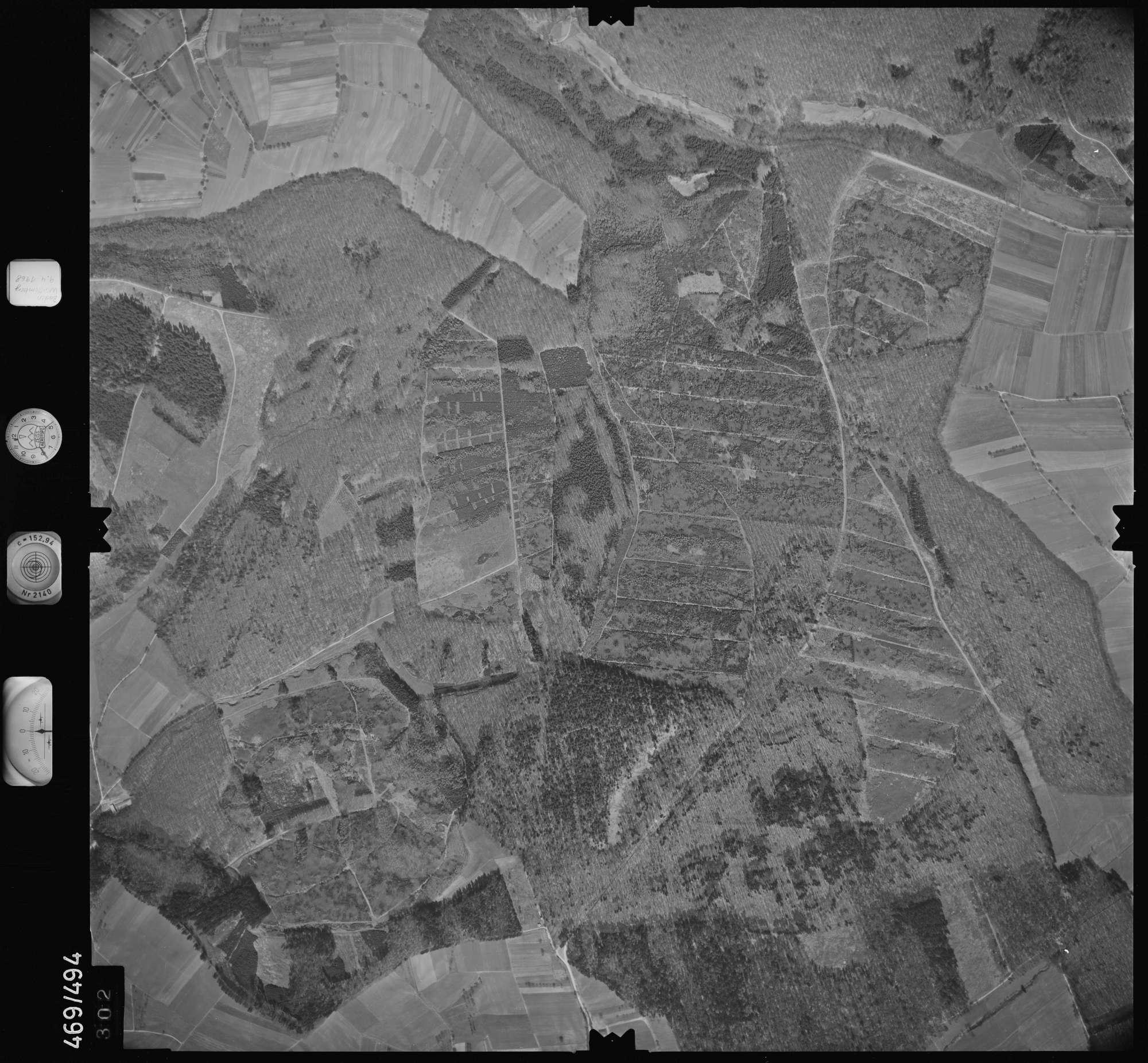Luftbild: Film 101 Bildnr. 302, Bild 1