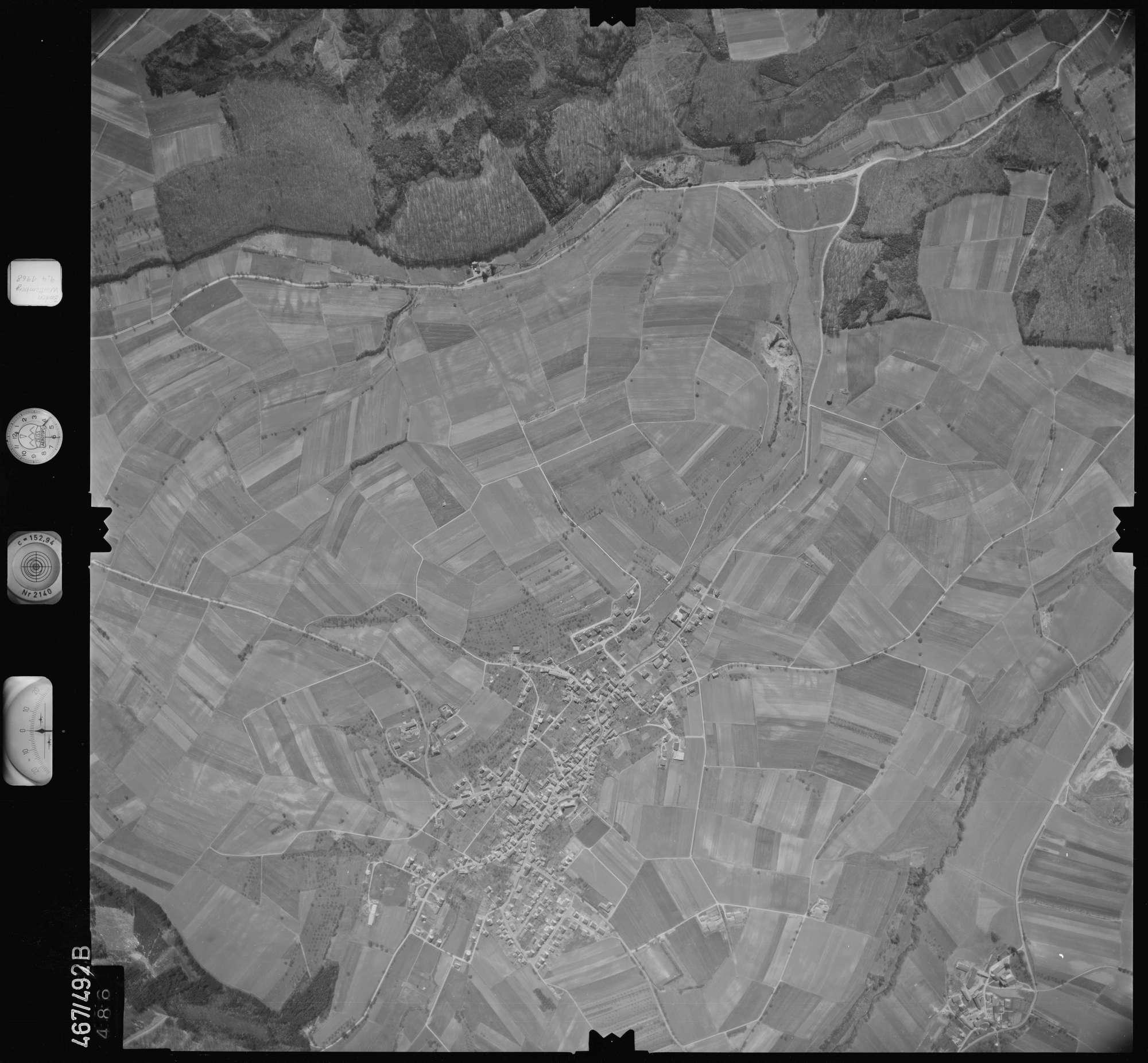 Luftbild: Film 101 Bildnr. 486, Bild 1