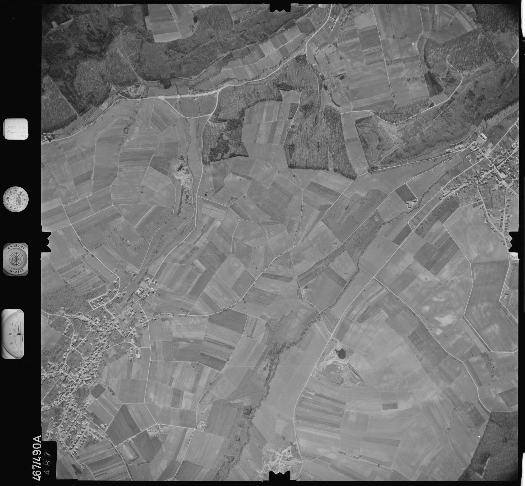 Luftbild: Film 101 Bildnr. 487, Bild 1