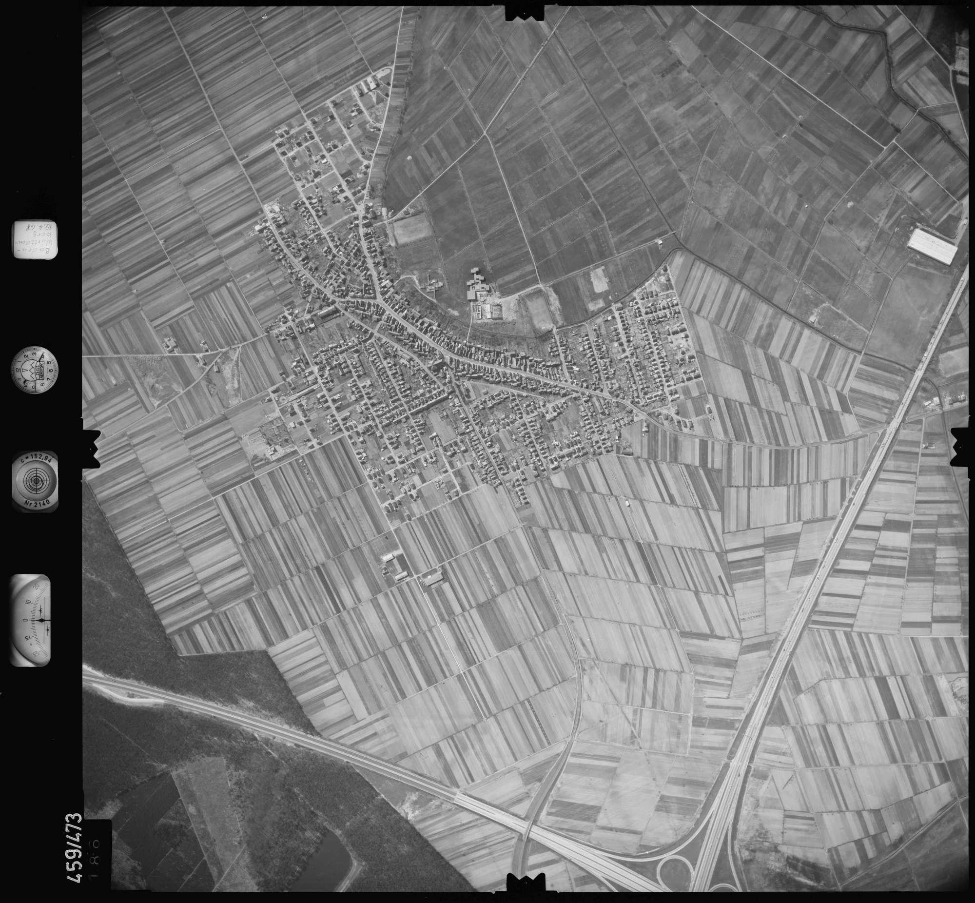 Luftbild: Film 103 Bildnr. 186, Bild 1