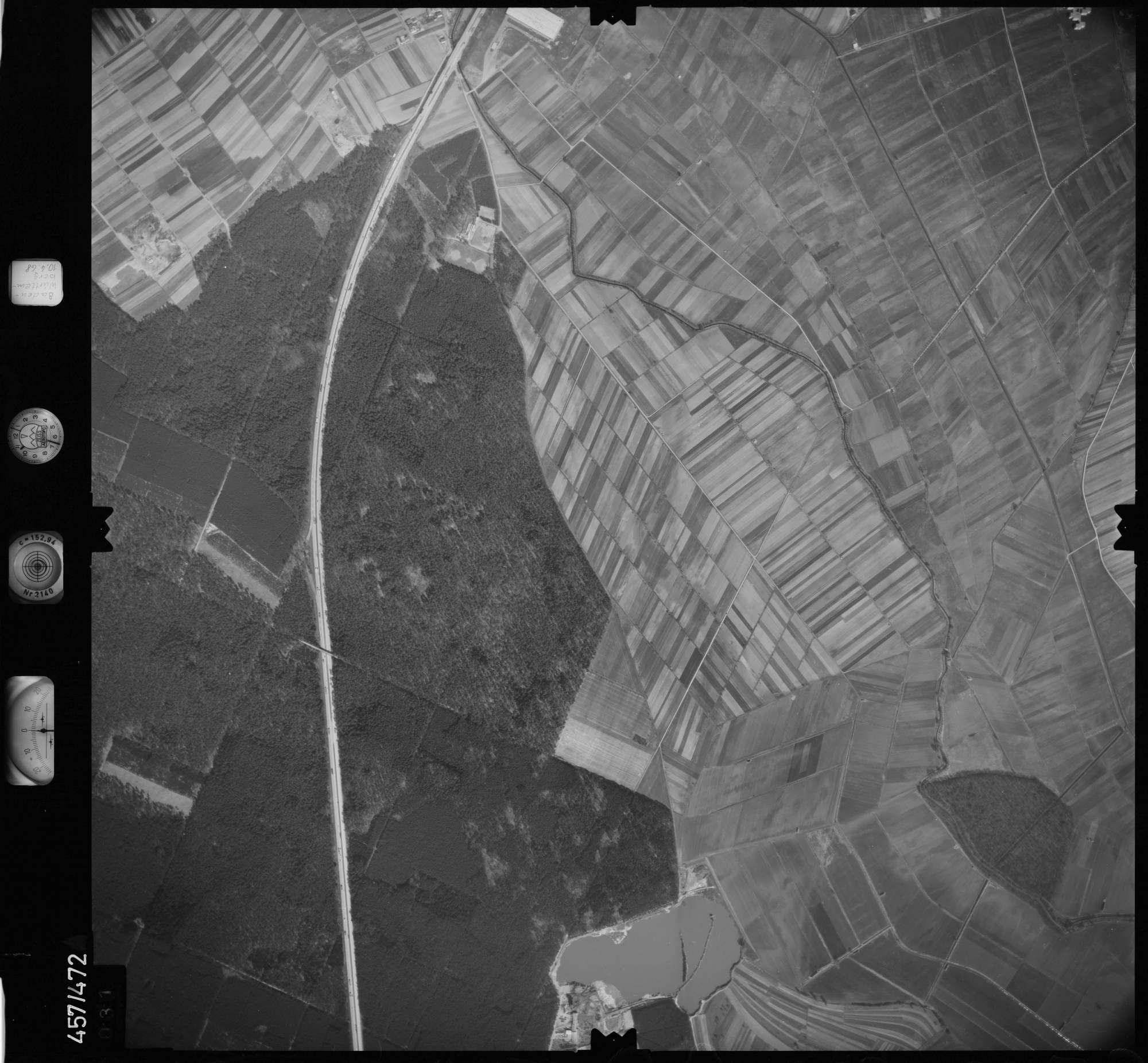 Luftbild: Film 104 Bildnr. 31, Bild 1