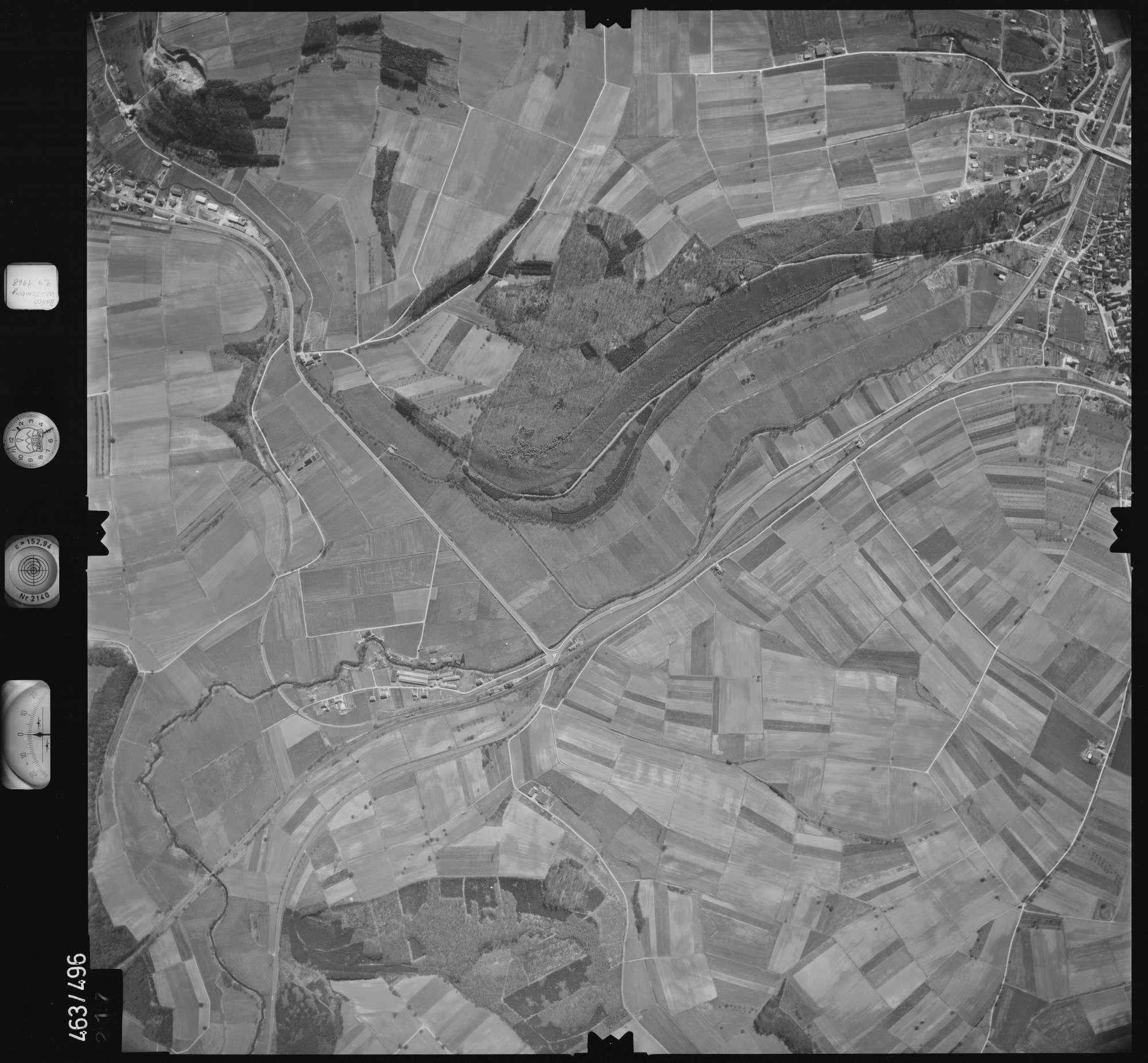 Luftbild: Film 102 Bildnr. 217, Bild 1