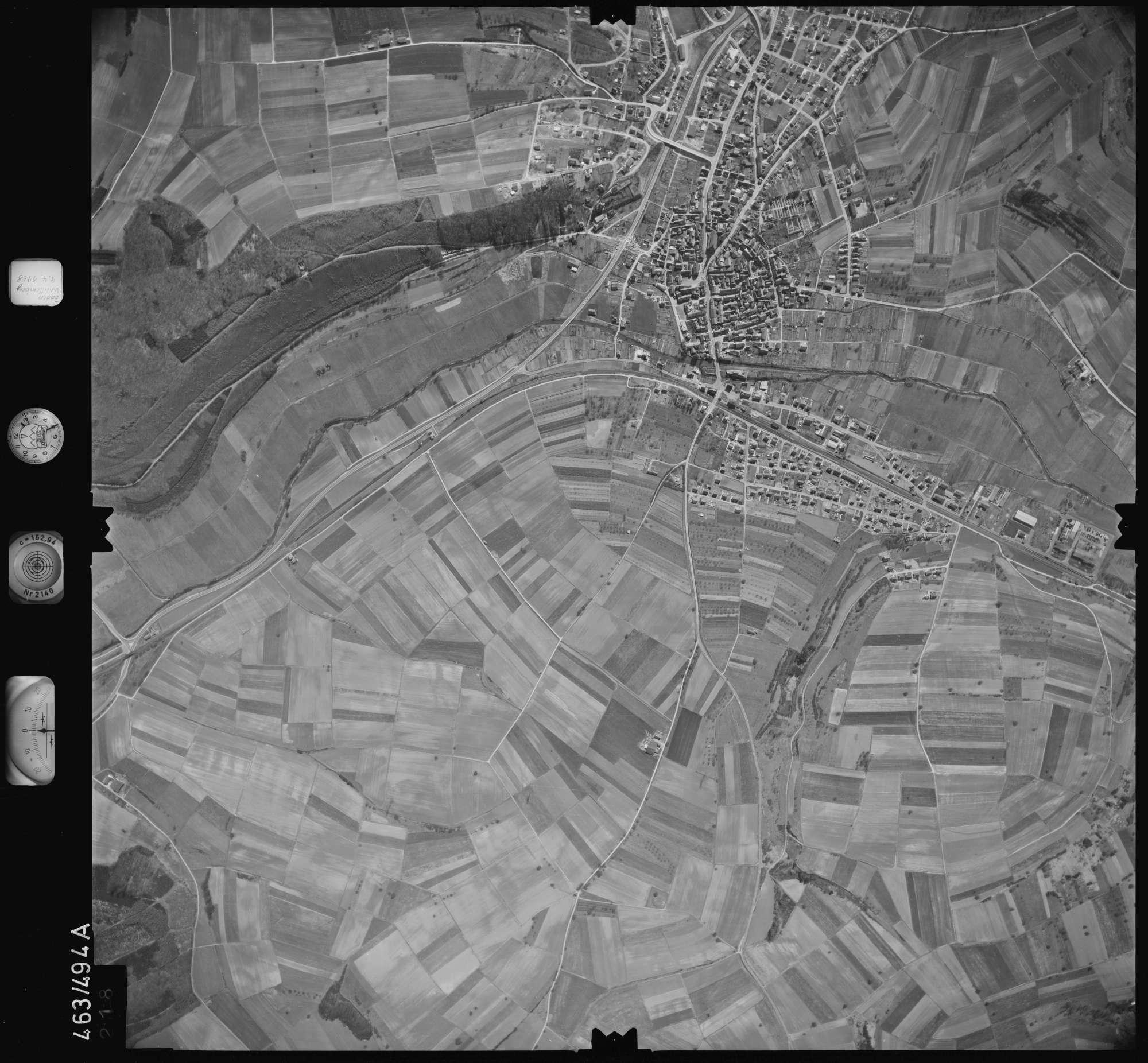 Luftbild: Film 102 Bildnr. 218, Bild 1