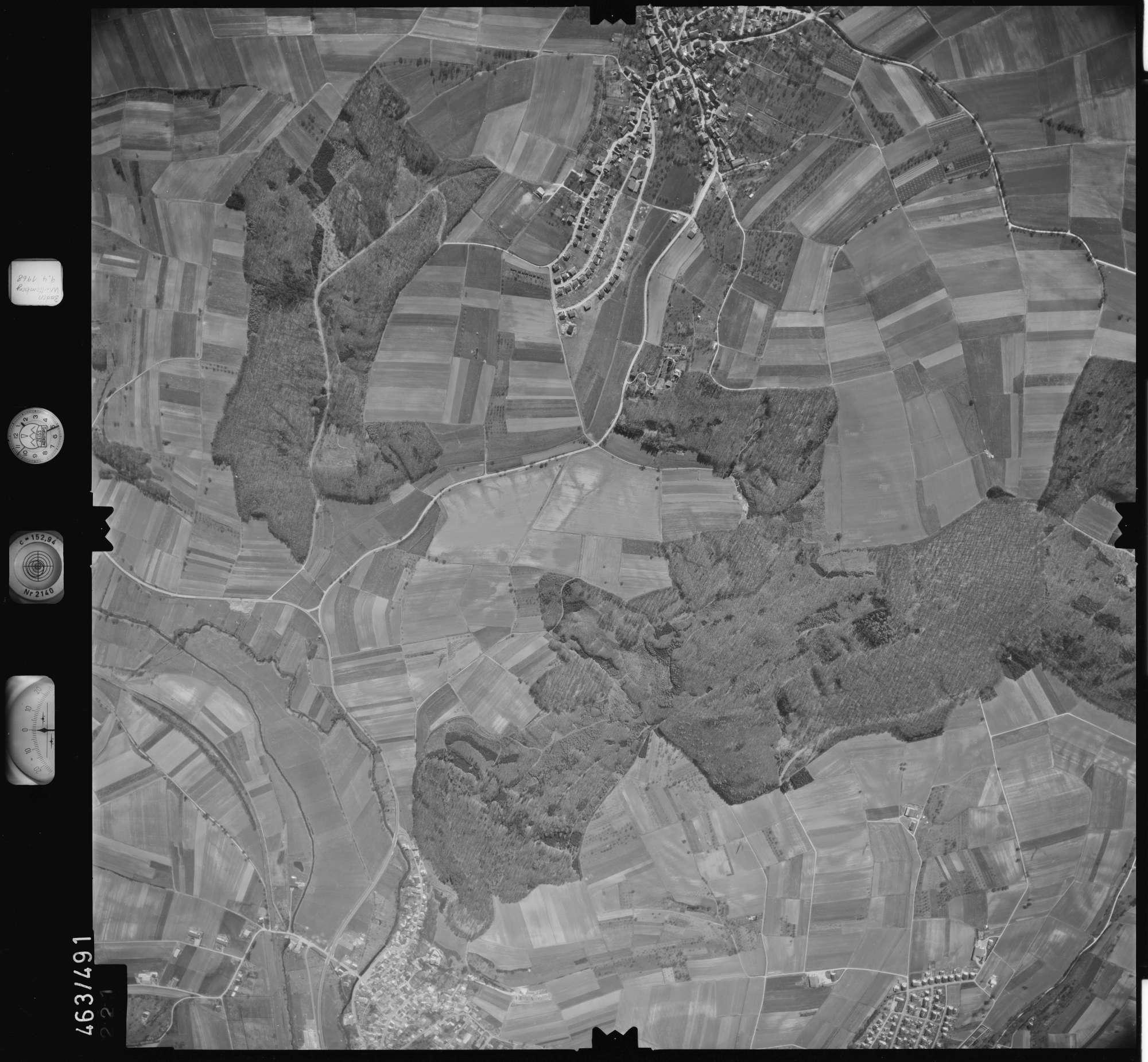 Luftbild: Film 102 Bildnr. 221, Bild 1