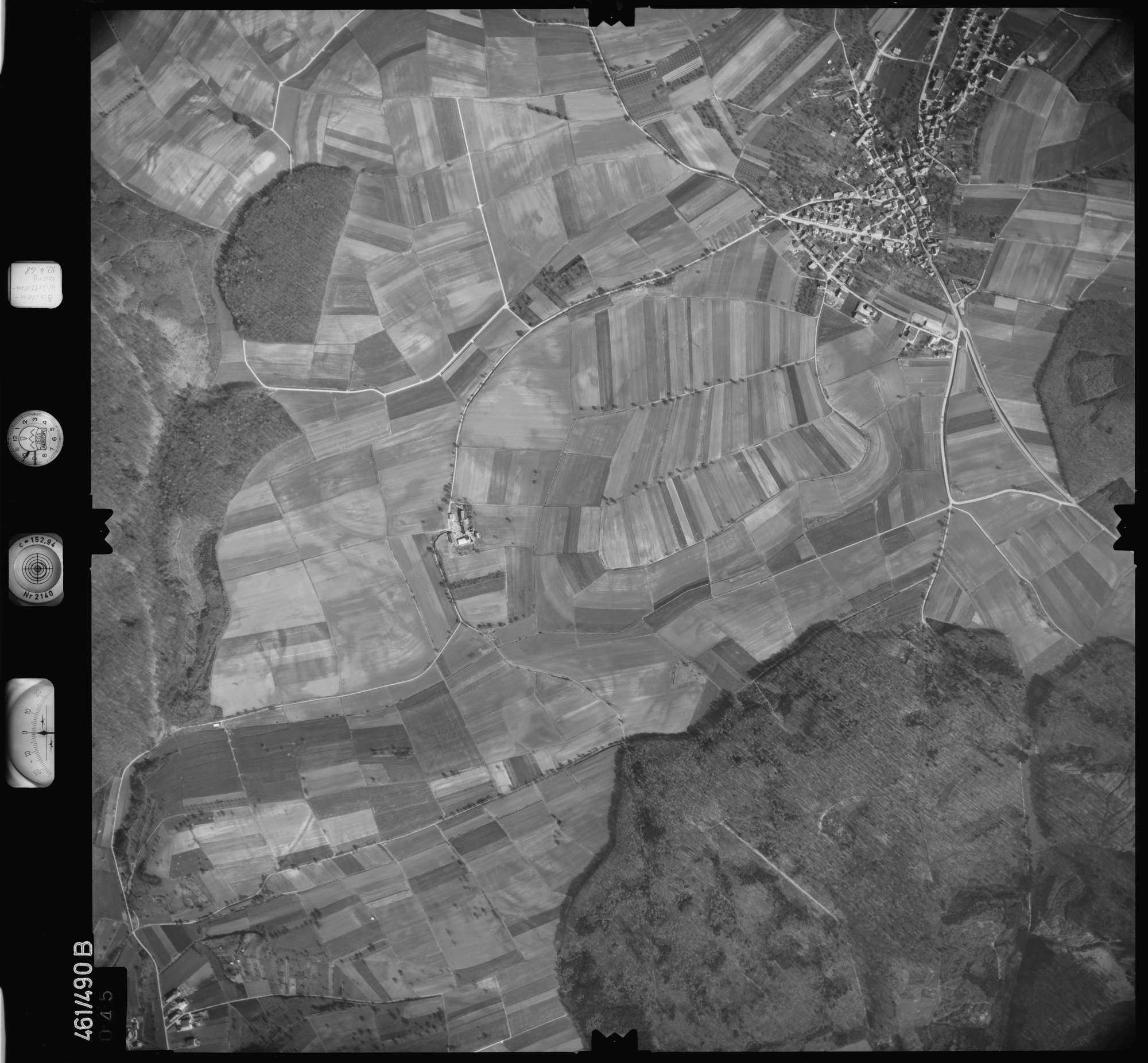 Luftbild: Film 103 Bildnr. 45, Bild 1