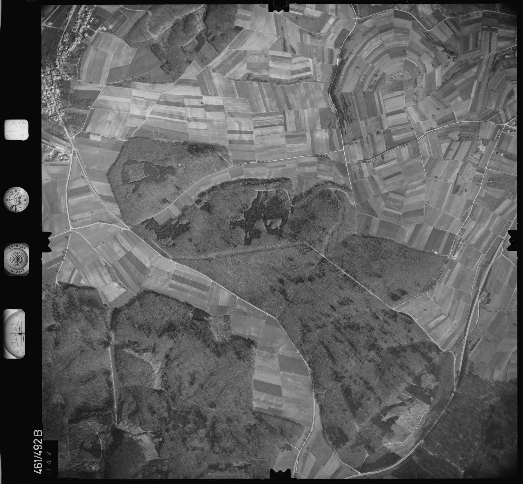 Luftbild: Film 103 Bildnr. 47, Bild 1