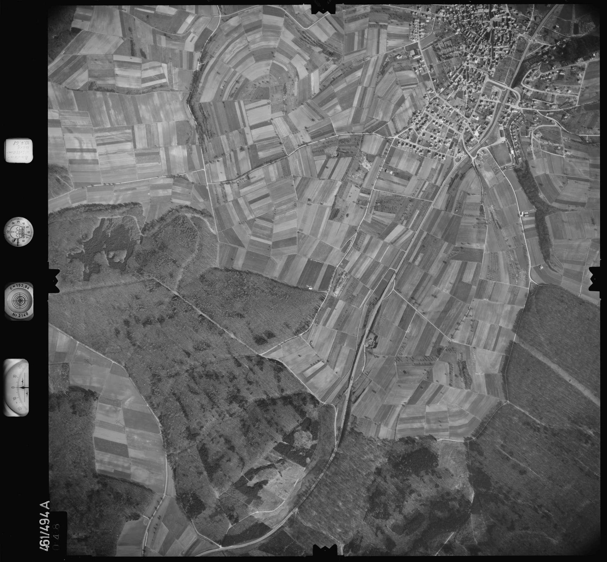 Luftbild: Film 103 Bildnr. 48, Bild 1