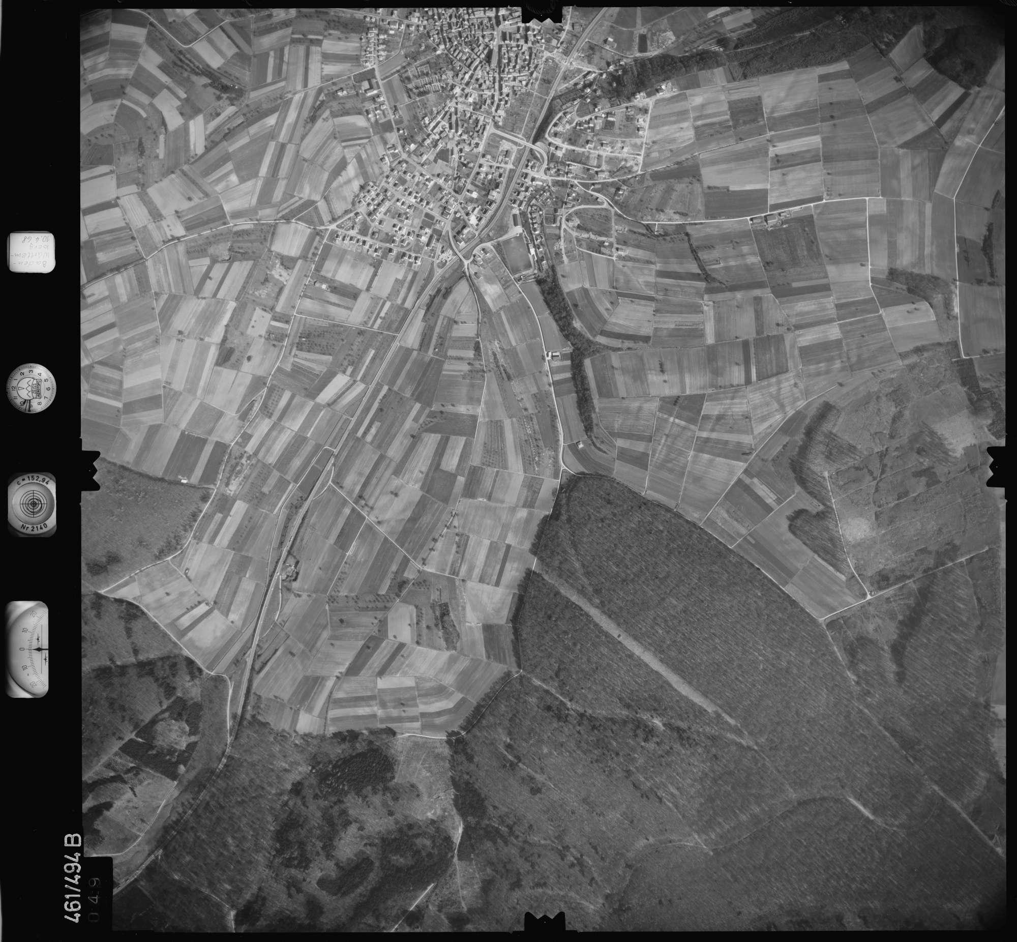 Luftbild: Film 103 Bildnr. 49, Bild 1