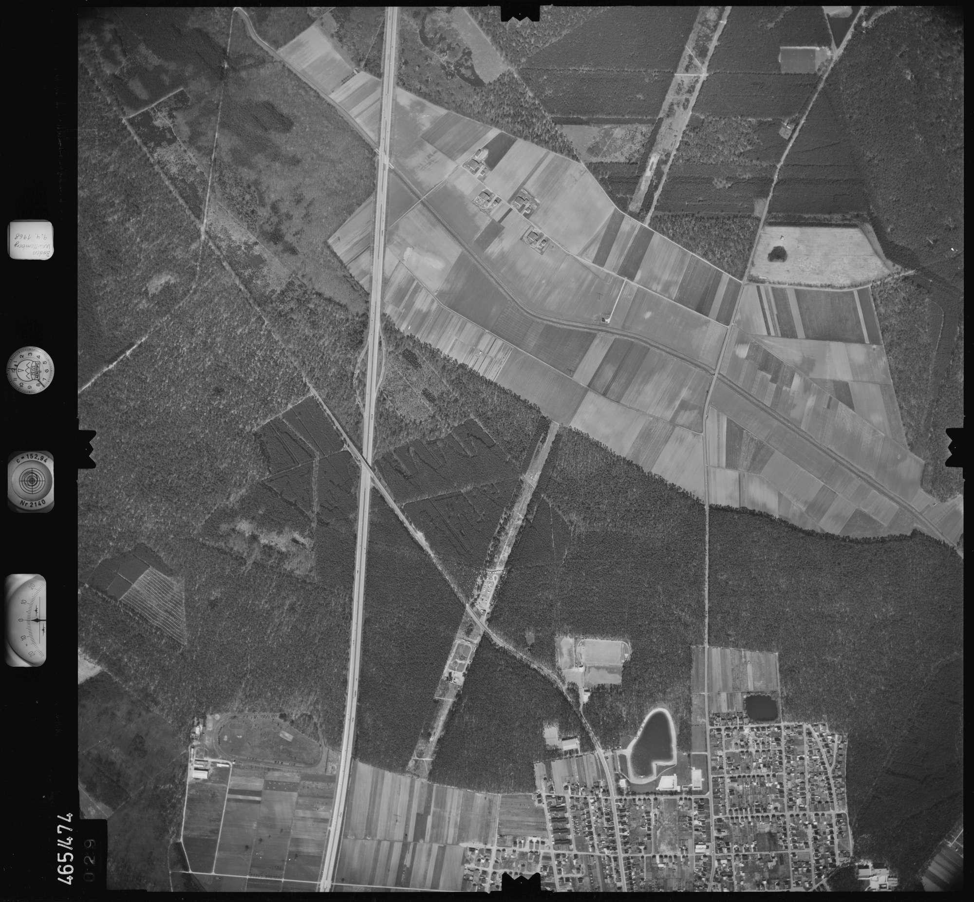Luftbild: Film 102 Bildnr. 29, Bild 1