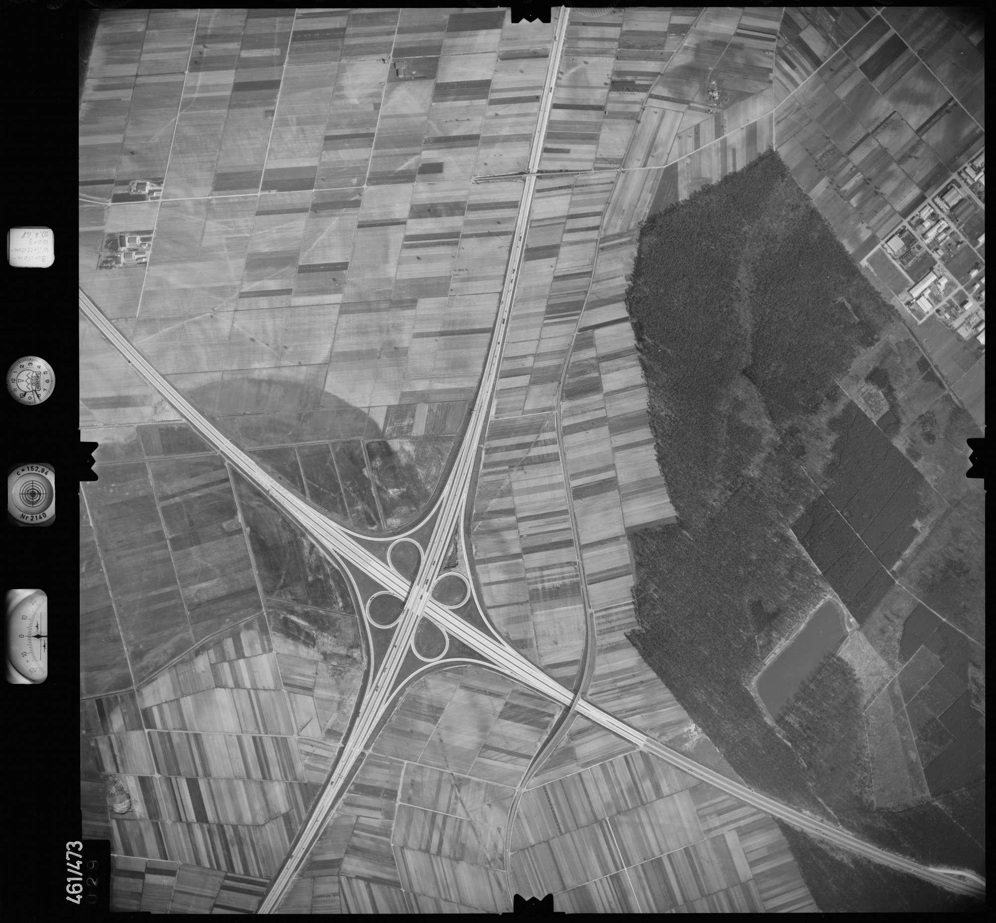 Luftbild: Film 103 Bildnr. 29, Bild 1