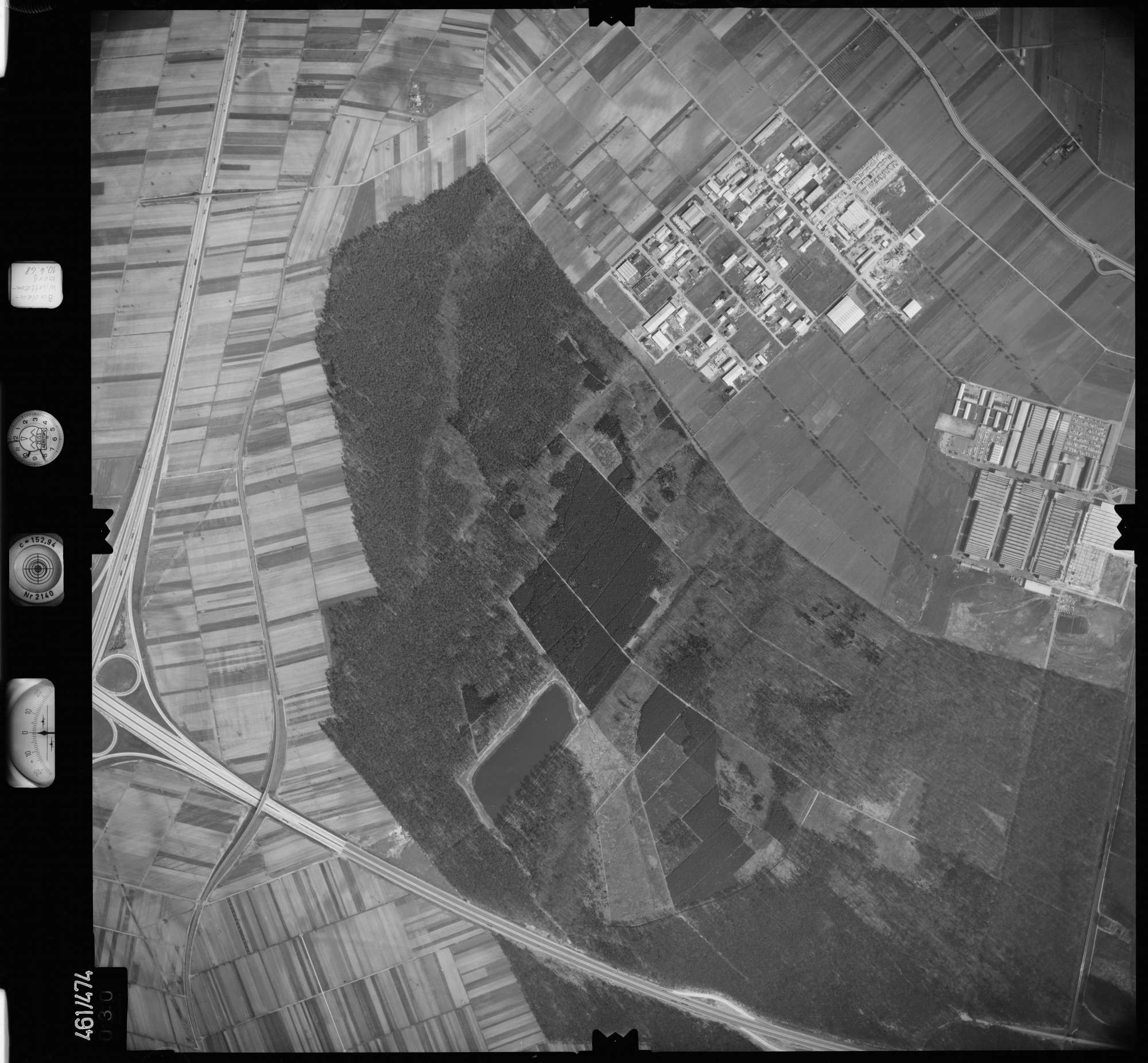 Luftbild: Film 103 Bildnr. 30, Bild 1