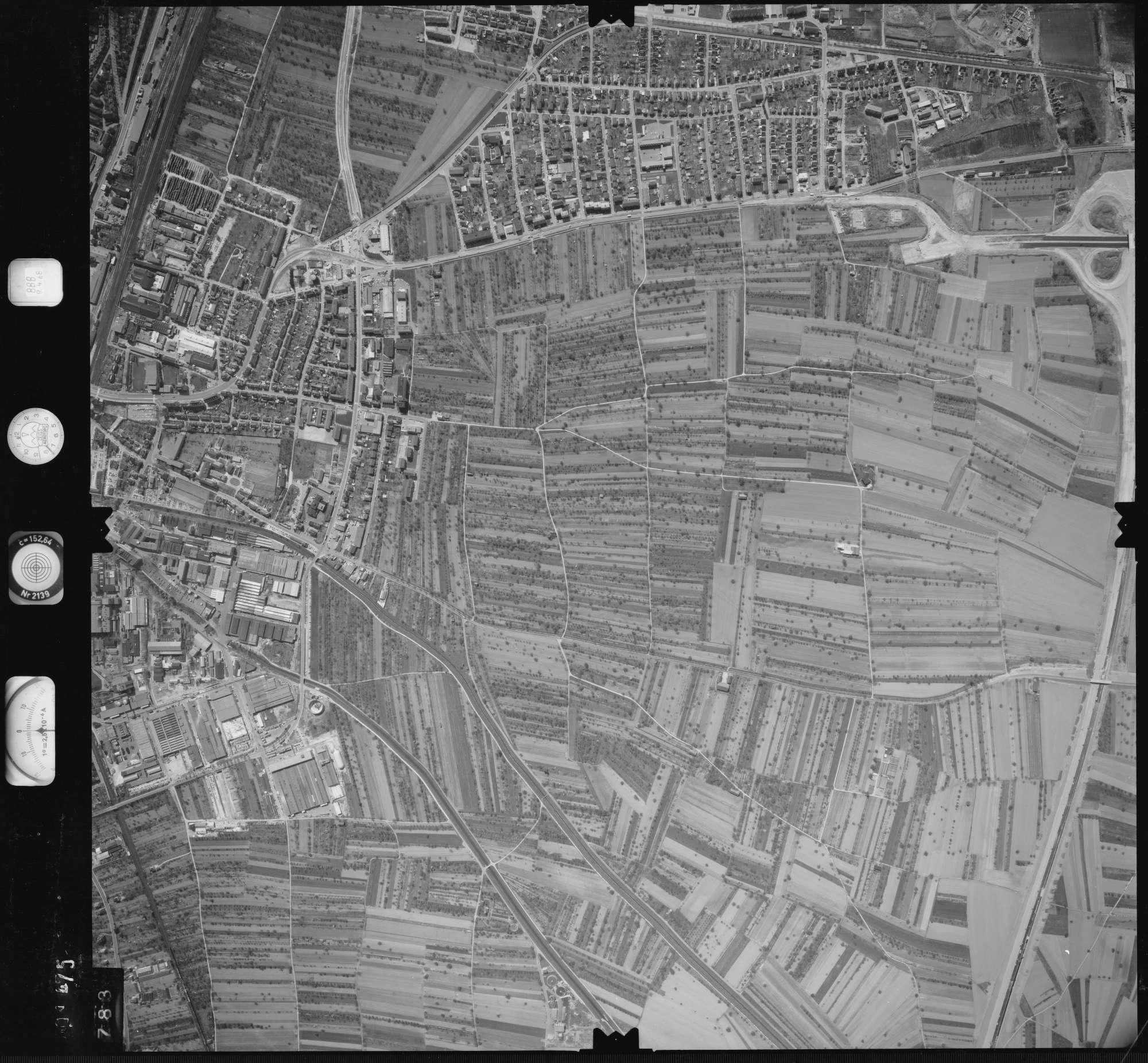 Luftbild: Film 888 Bildnr. 783, Bild 1