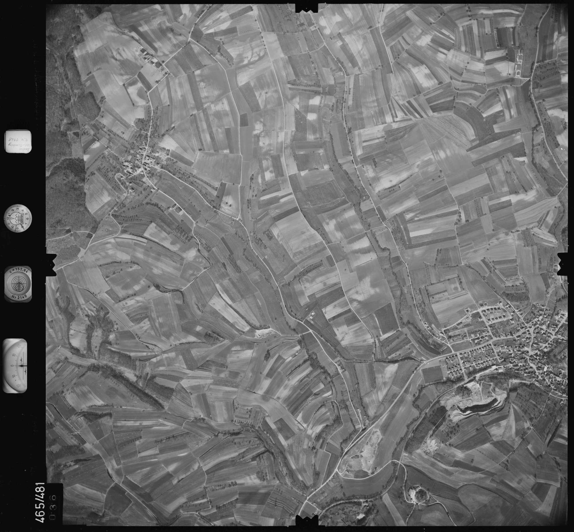 Luftbild: Film 102 Bildnr. 36, Bild 1