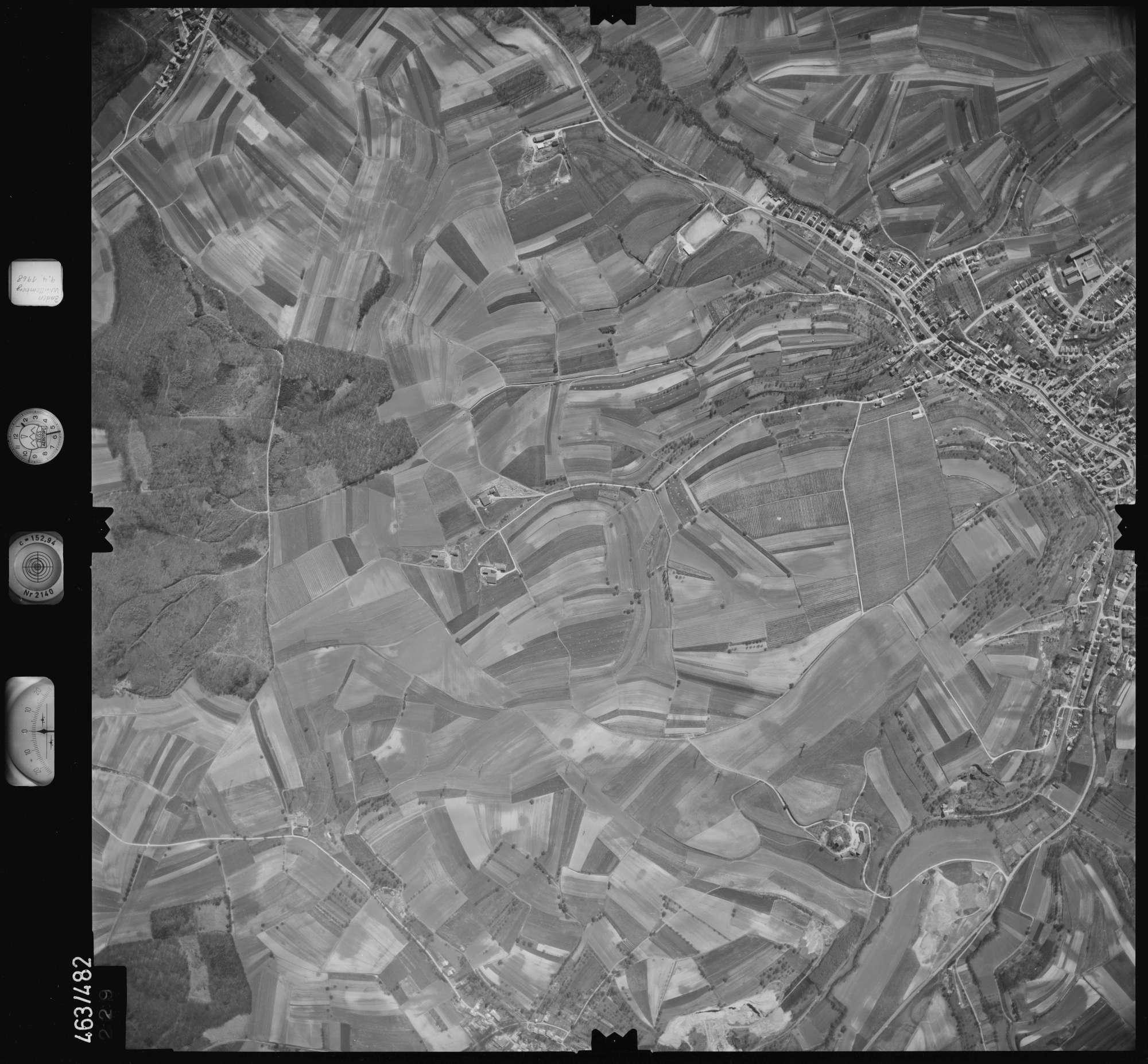 Luftbild: Film 102 Bildnr. 229, Bild 1