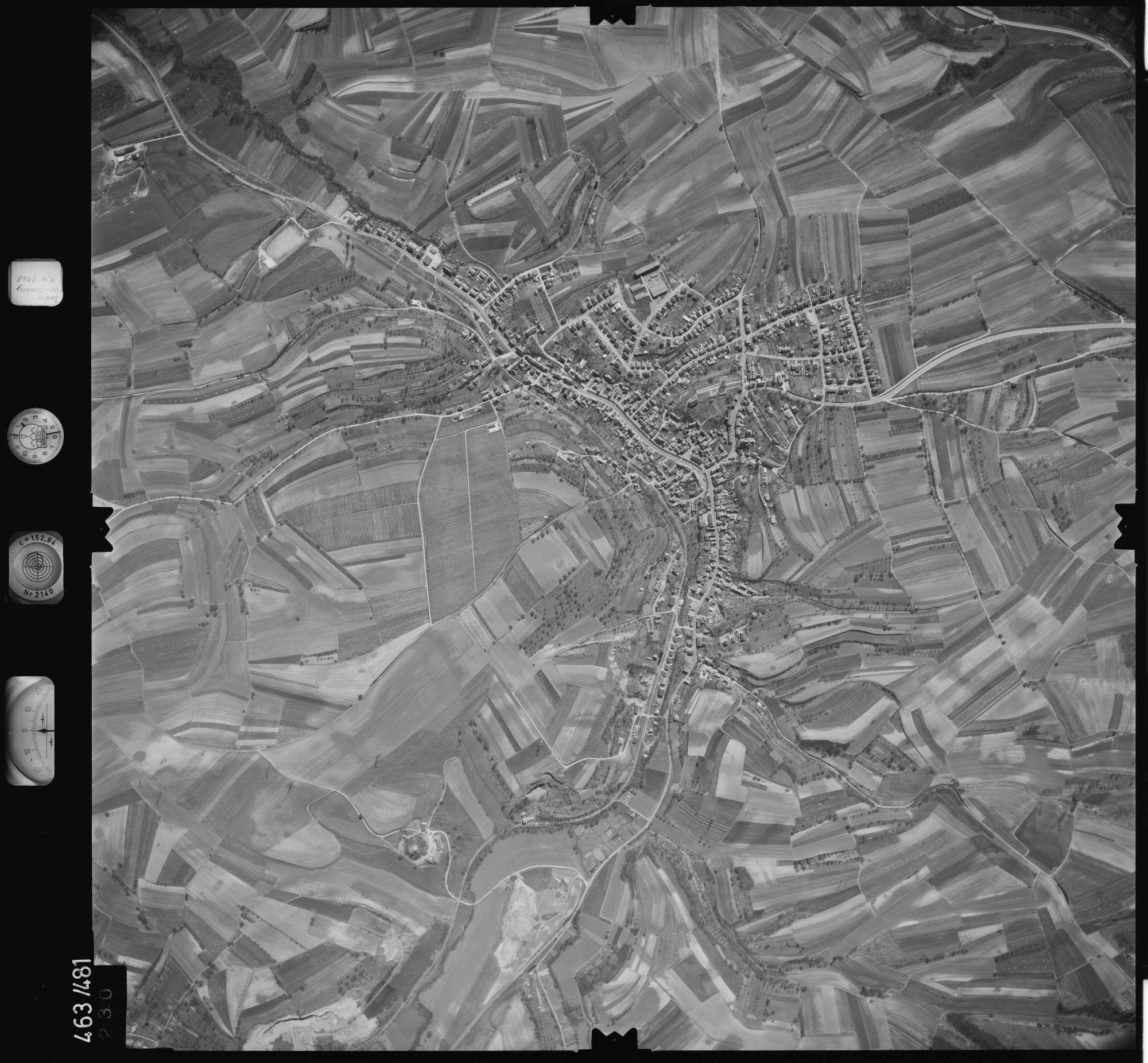 Luftbild: Film 102 Bildnr. 230, Bild 1