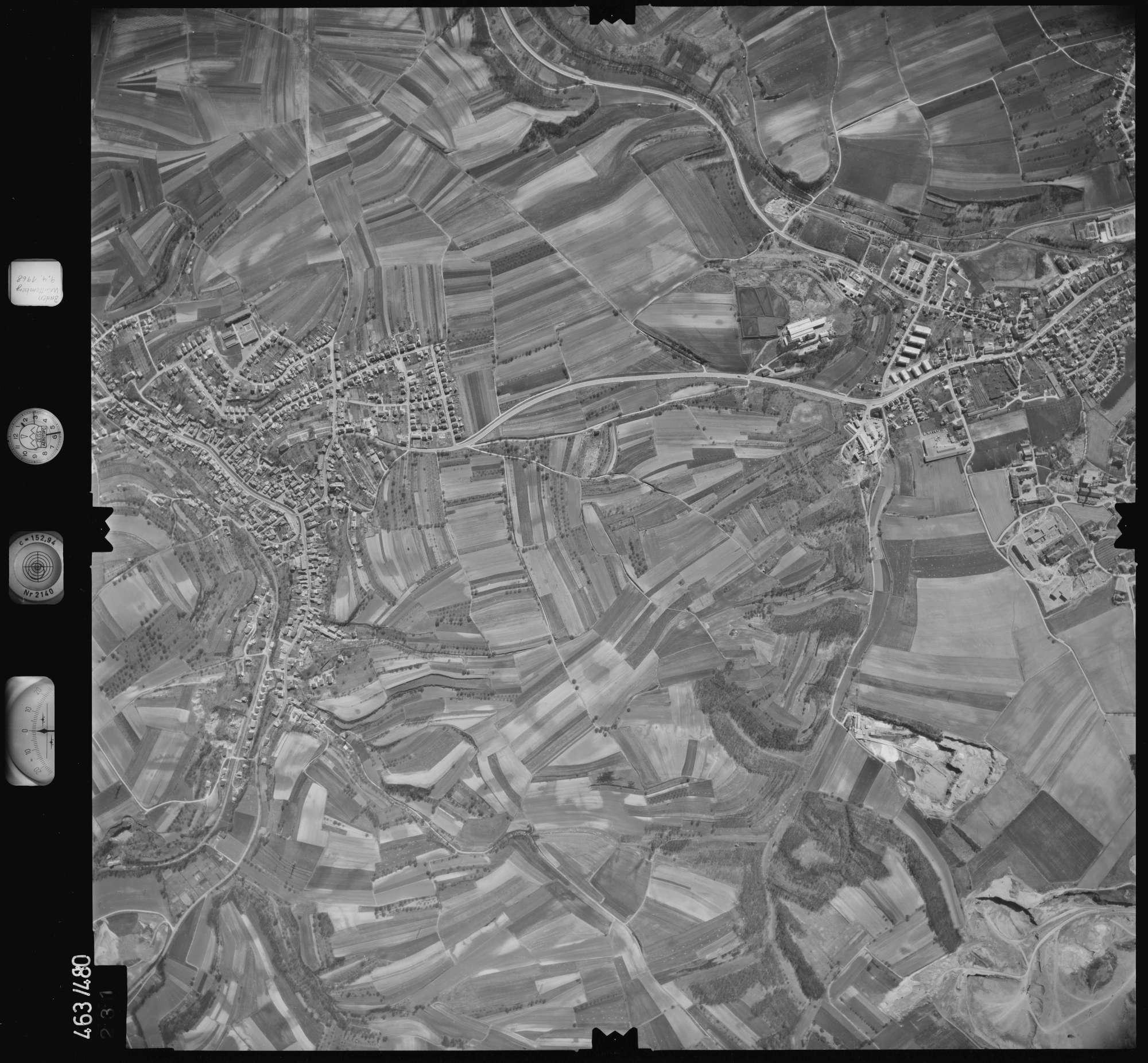 Luftbild: Film 102 Bildnr. 231, Bild 1