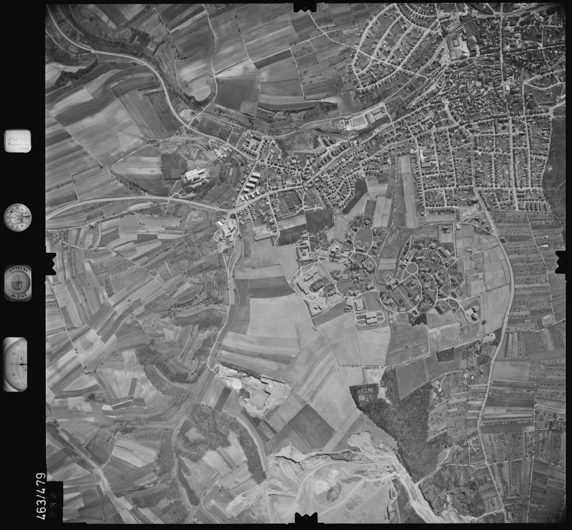 Luftbild: Film 102 Bildnr. 232, Bild 1