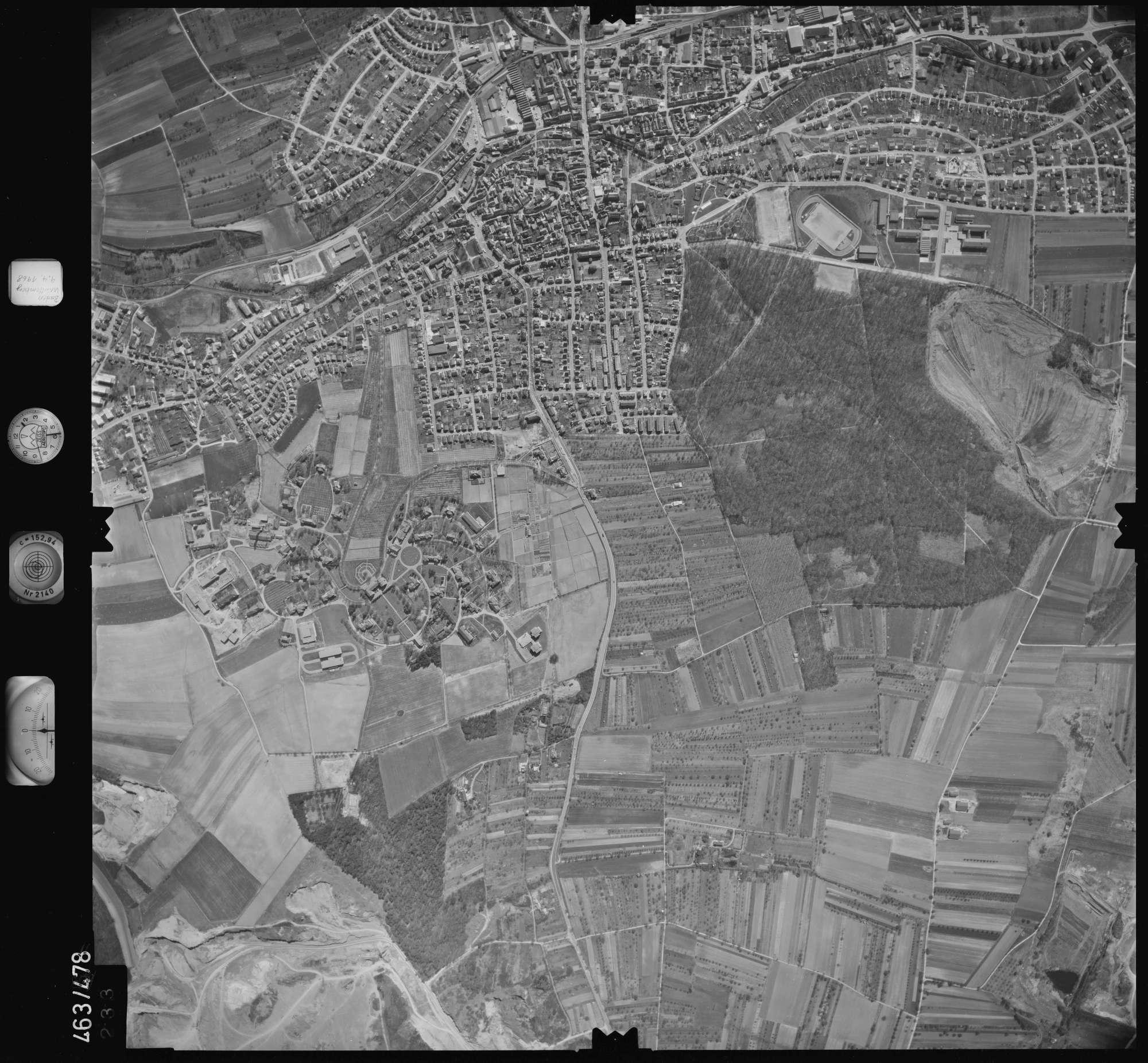 Luftbild: Film 102 Bildnr. 233, Bild 1