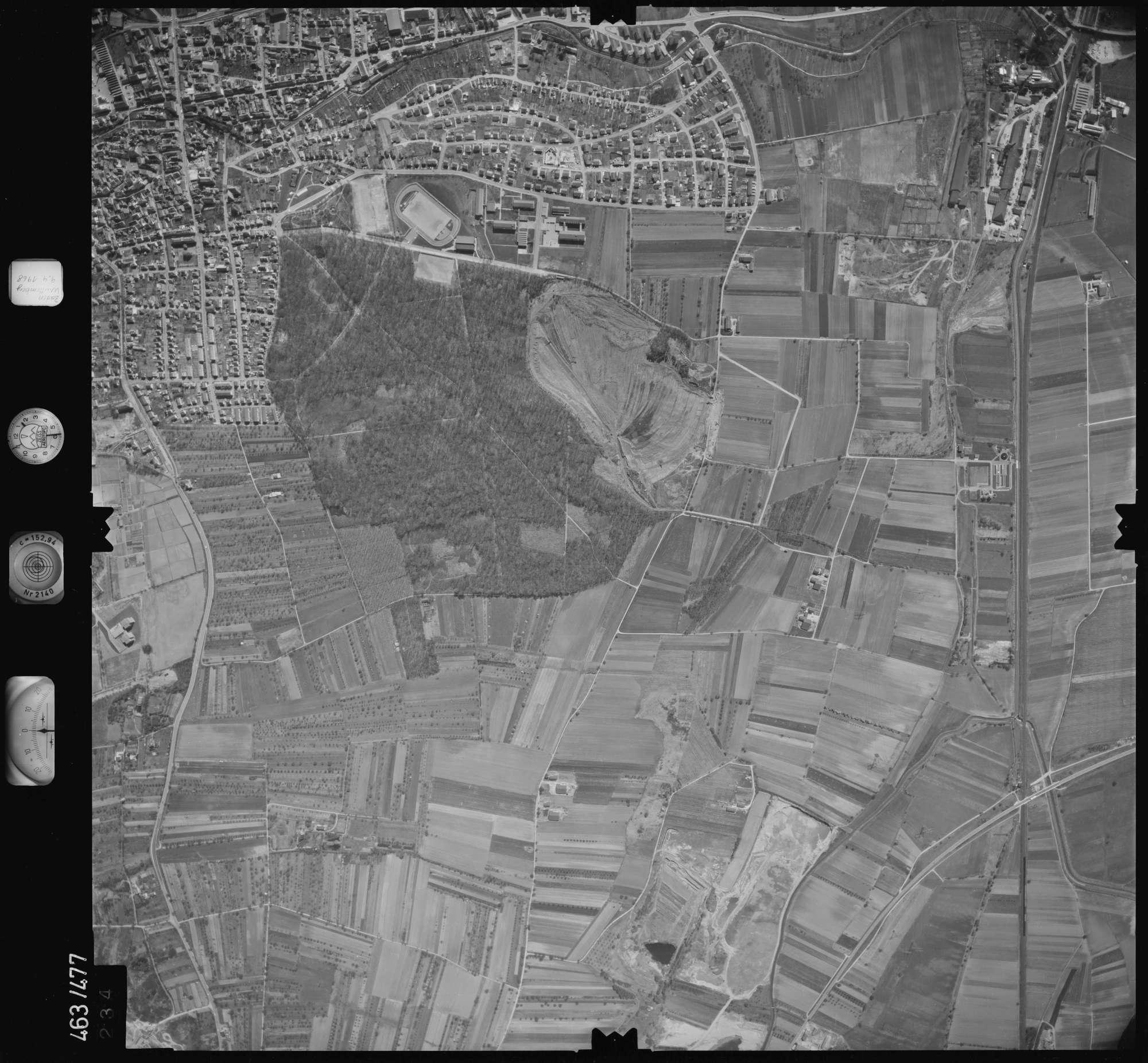 Luftbild: Film 102 Bildnr. 234, Bild 1
