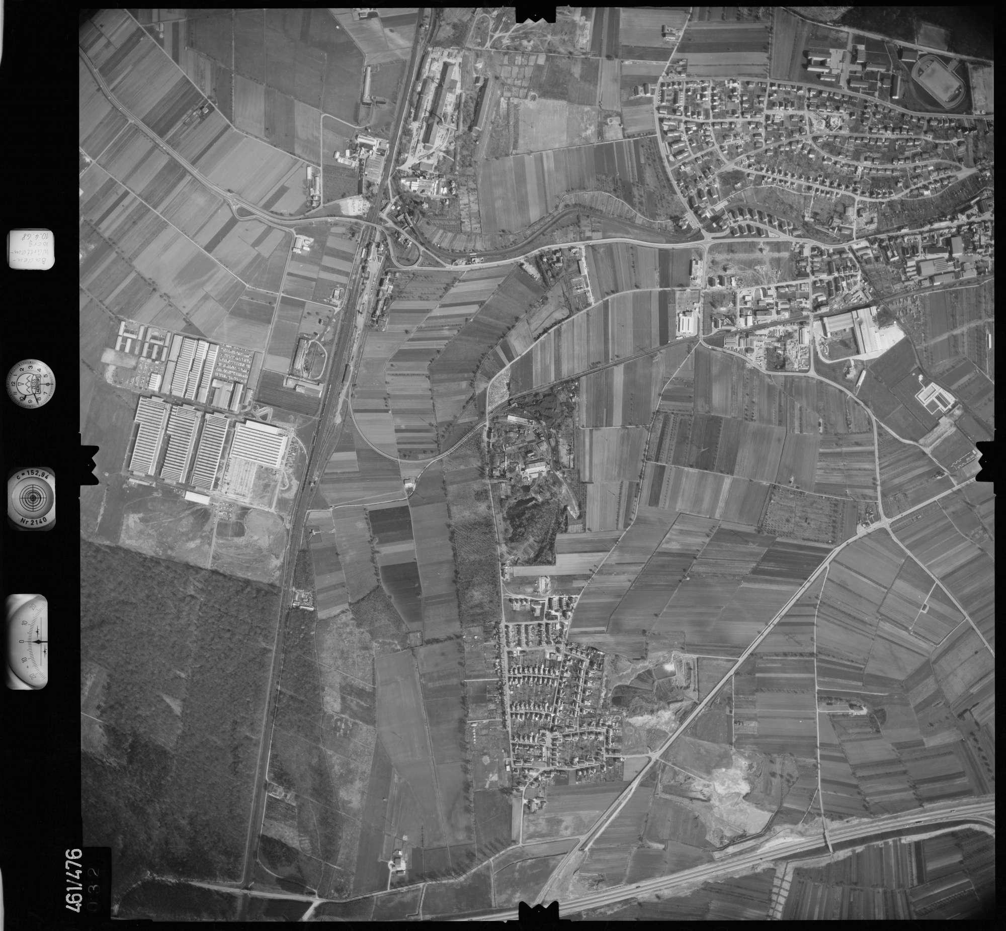Luftbild: Film 103 Bildnr. 32, Bild 1