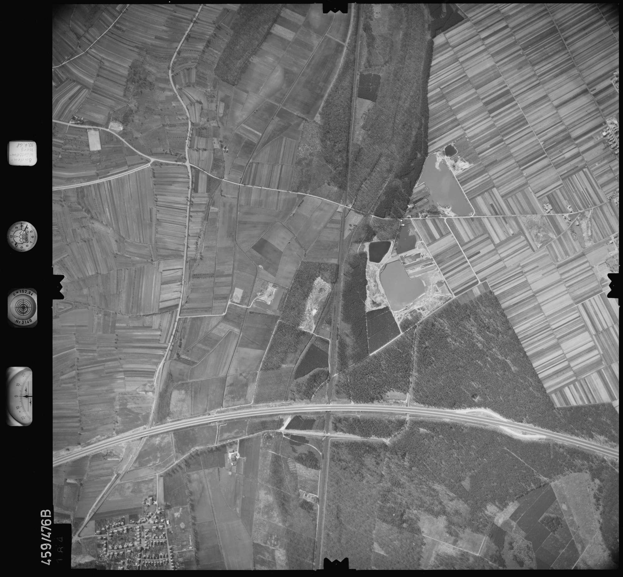 Luftbild: Film 103 Bildnr. 184, Bild 1