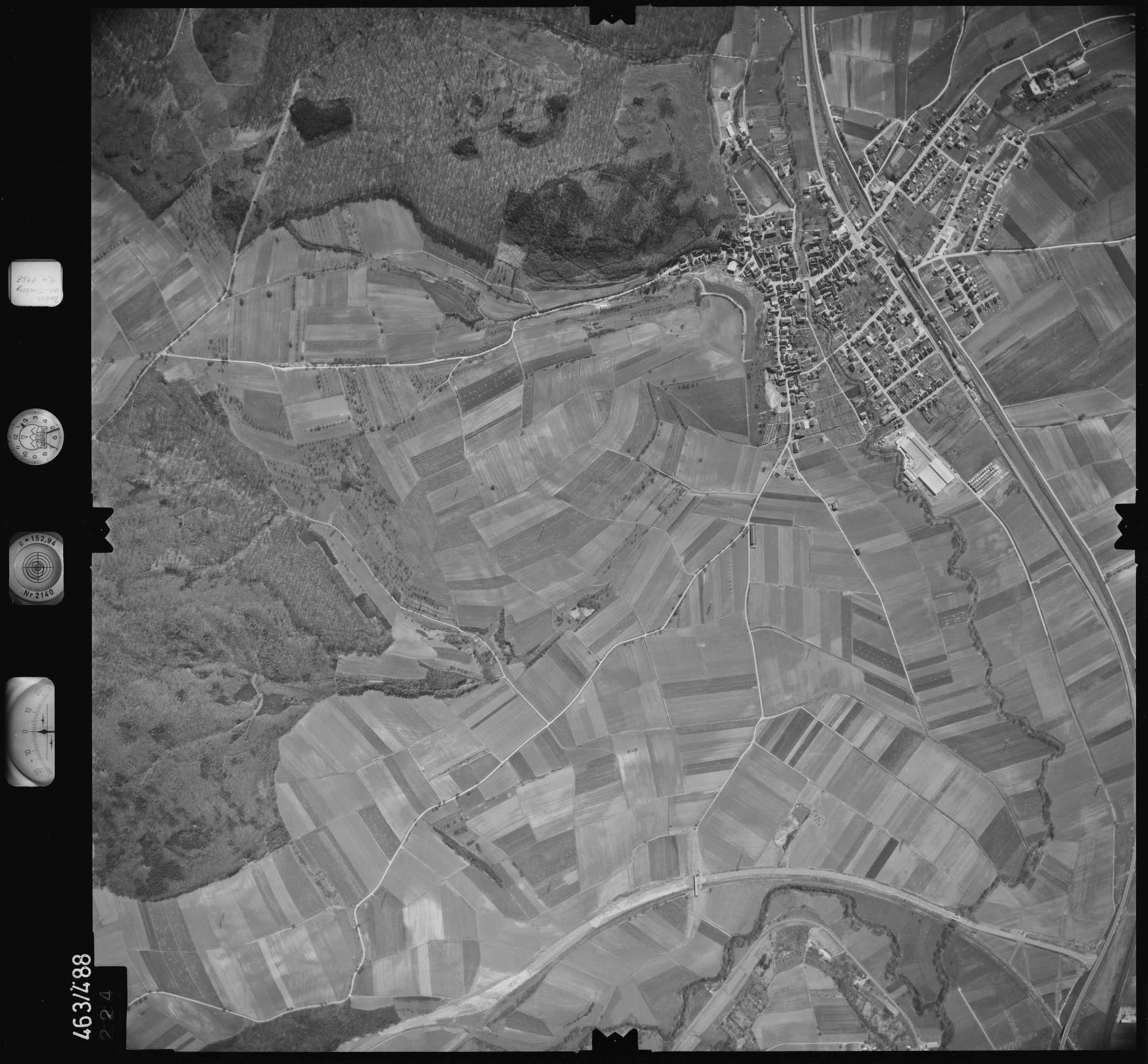 Luftbild: Film 102 Bildnr. 224, Bild 1