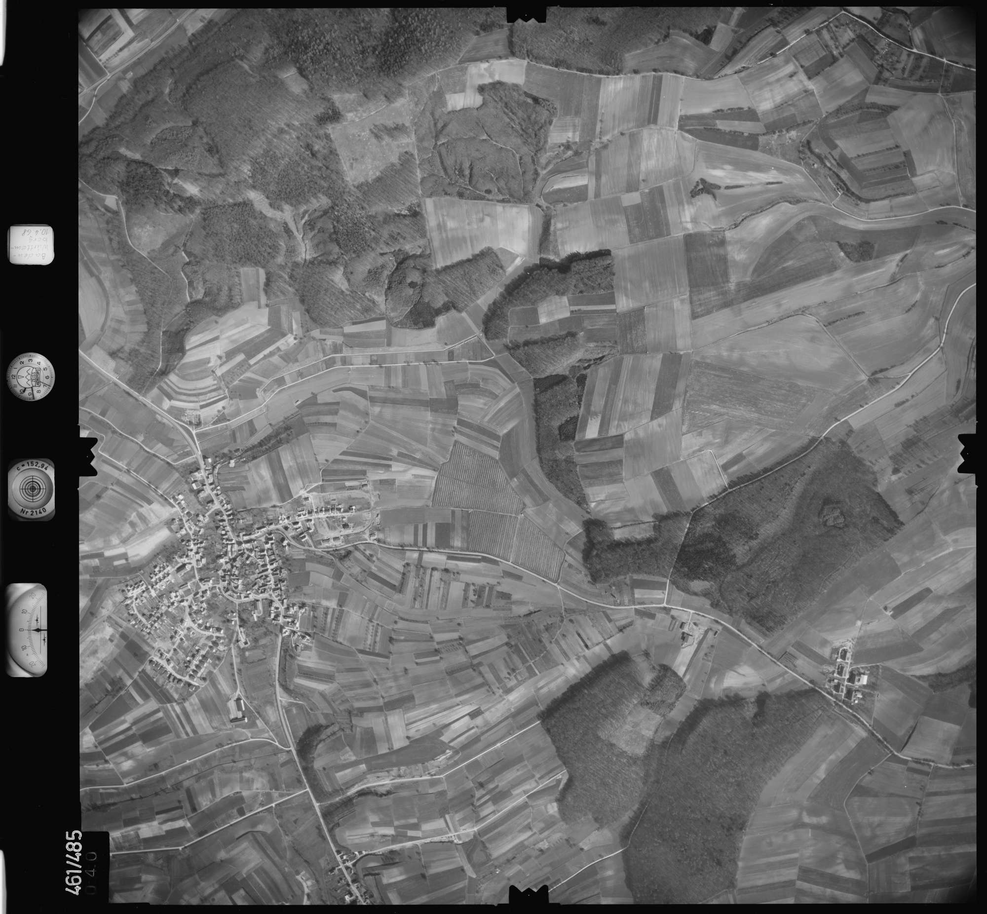 Luftbild: Film 103 Bildnr. 40, Bild 1