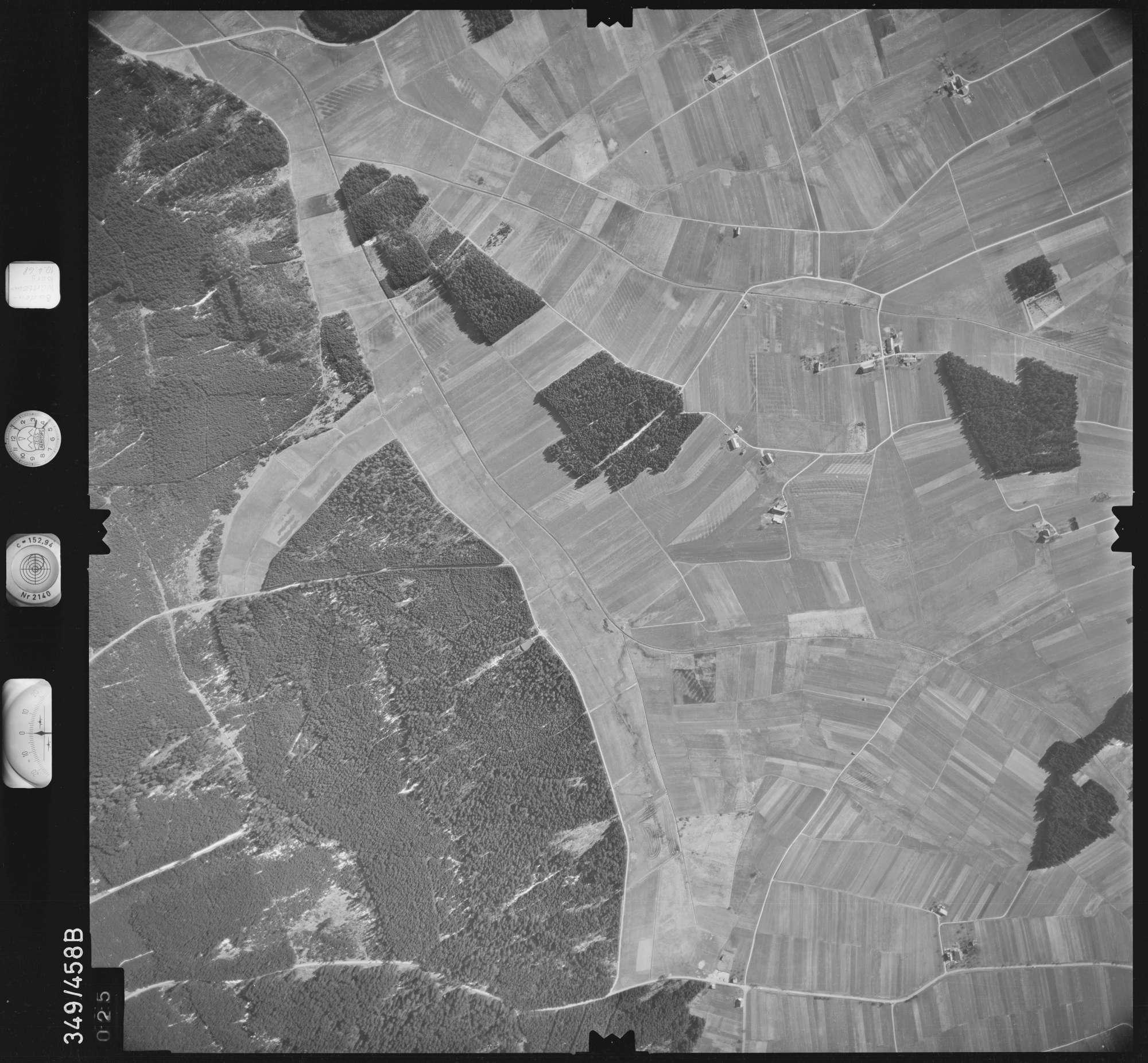 Luftbild: Film 43 Bildnr. 25, Bild 1