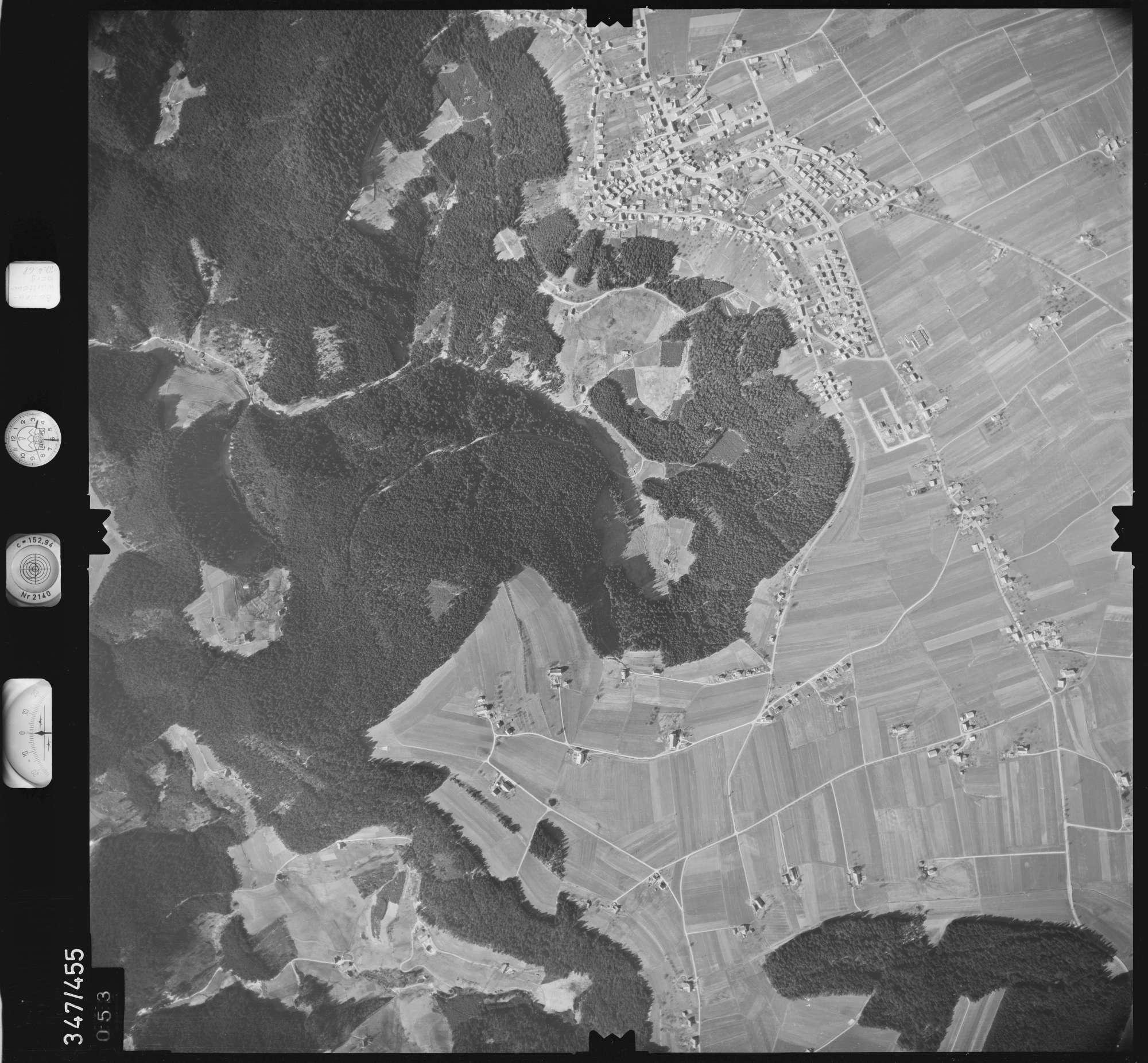 Luftbild: Film 43 Bildnr. 53, Bild 1