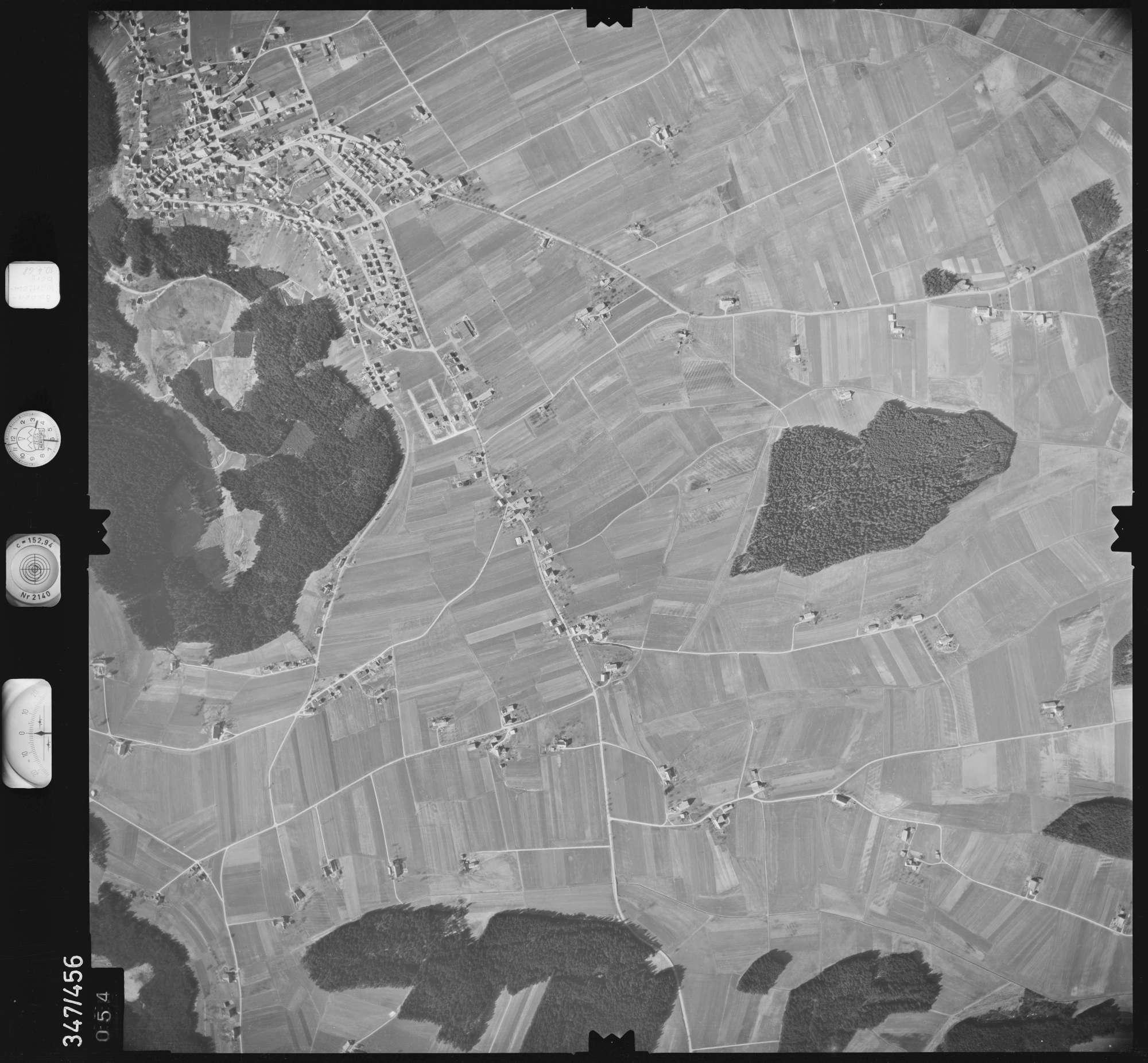 Luftbild: Film 43 Bildnr. 54, Bild 1