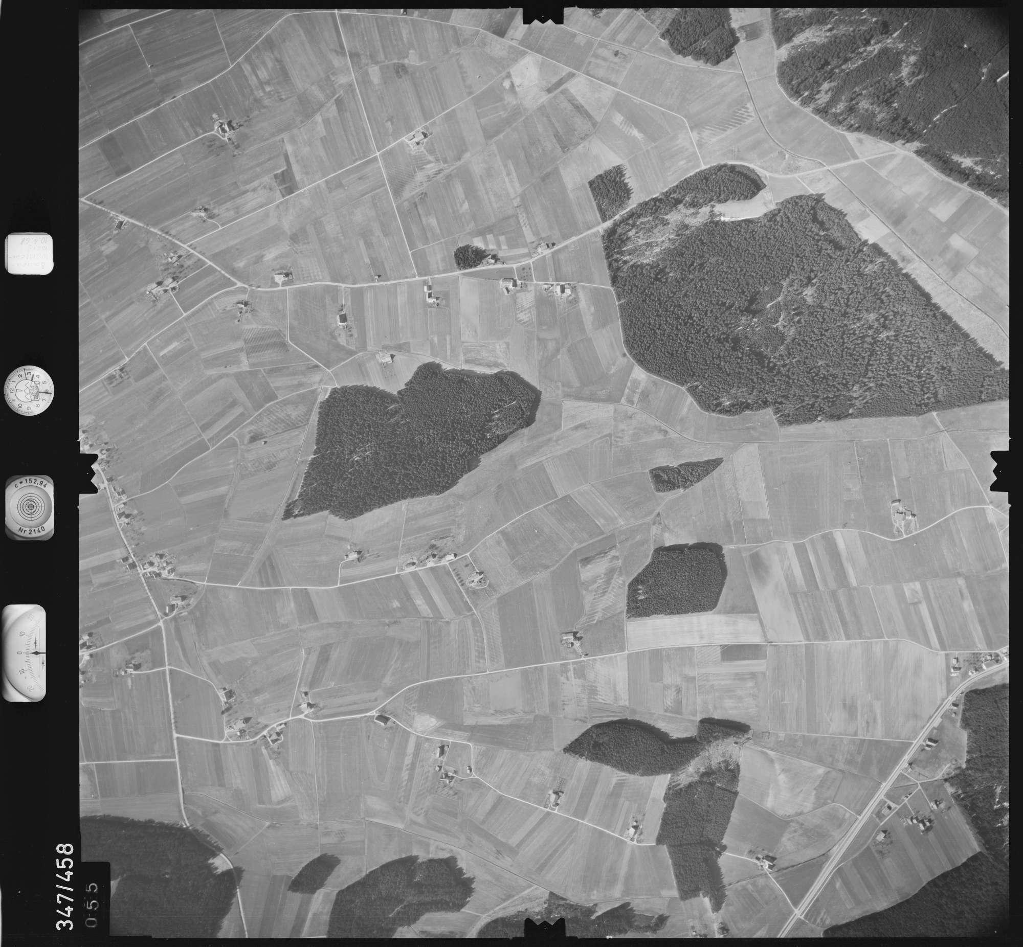 Luftbild: Film 43 Bildnr. 55, Bild 1
