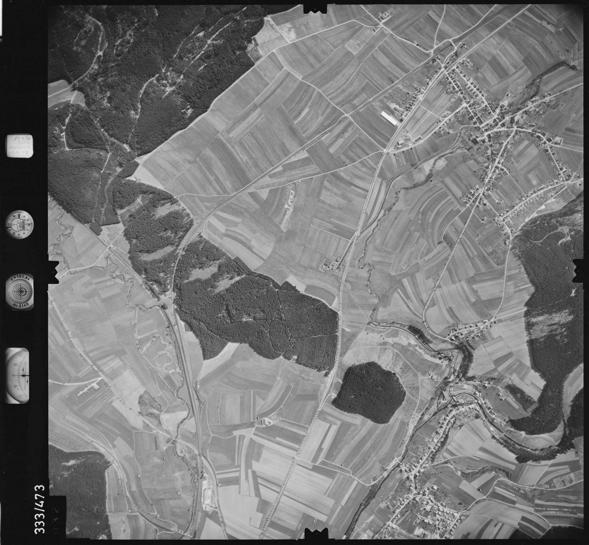 Luftbild: Film 49 Bildnr. 32, Bild 1