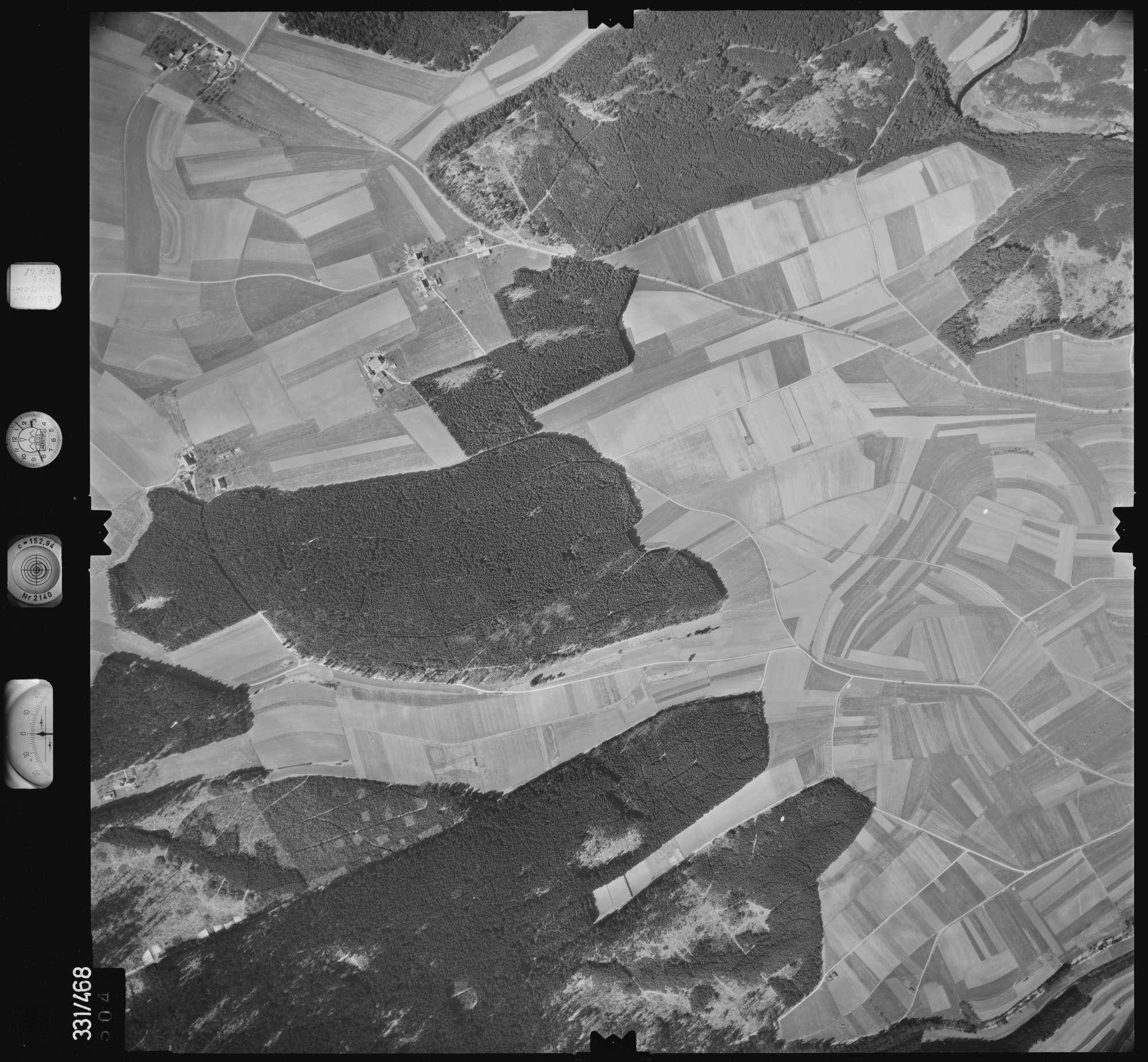 Luftbild: Film 89 Bildnr. 504, Bild 1
