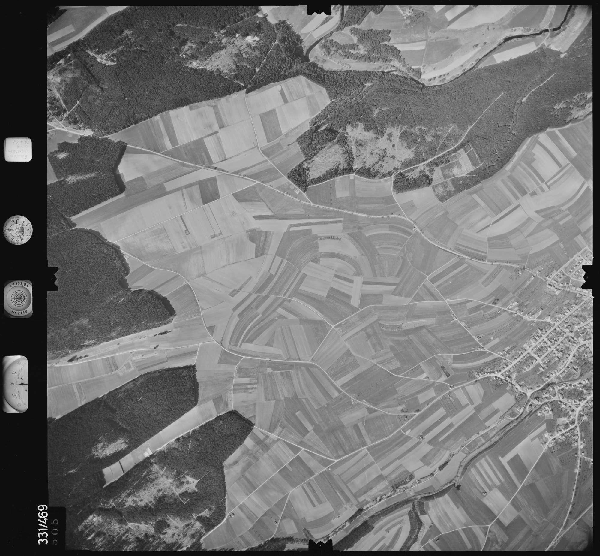 Luftbild: Film 89 Bildnr. 505, Bild 1