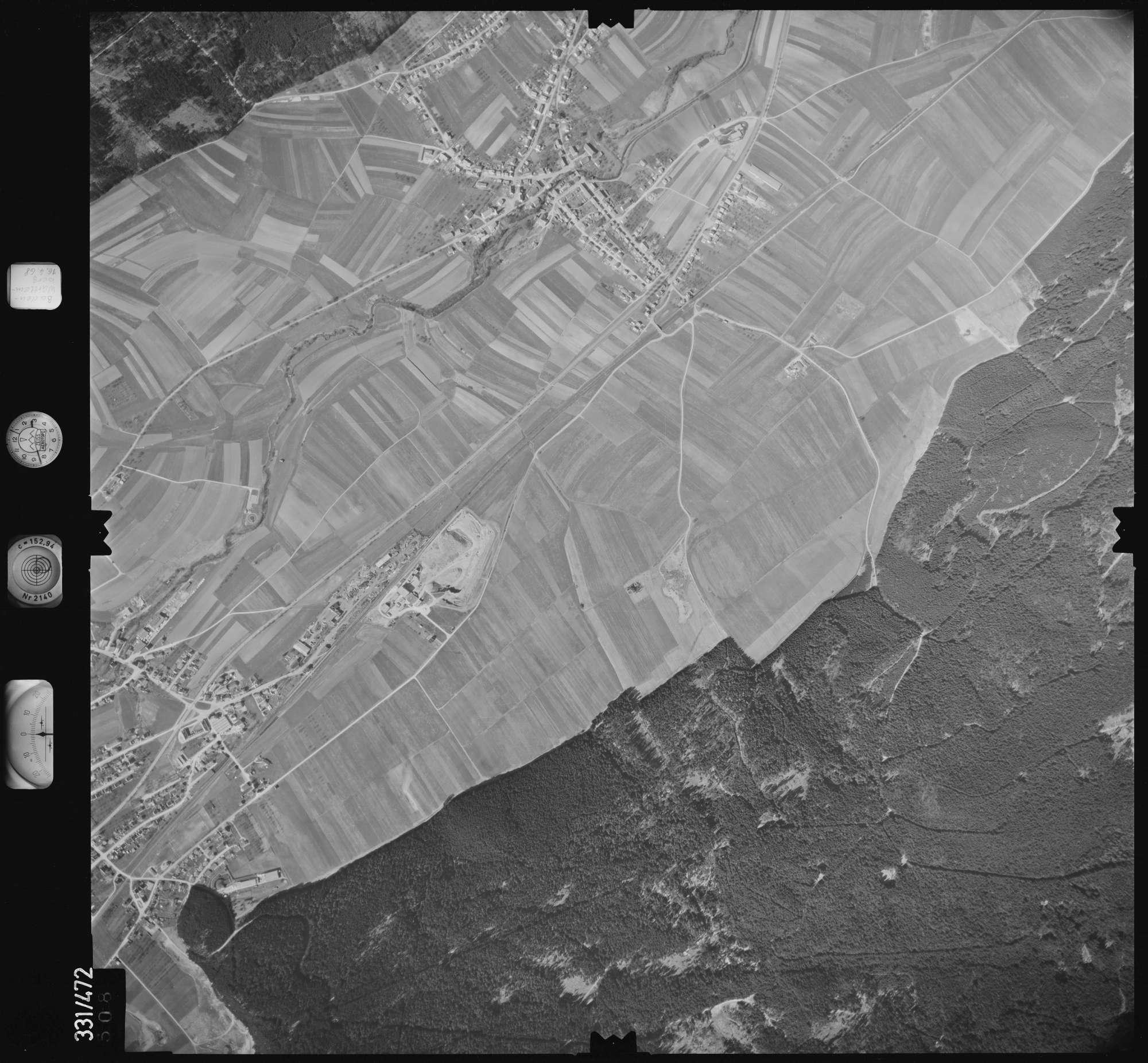 Luftbild: Film 89 Bildnr. 508, Bild 1